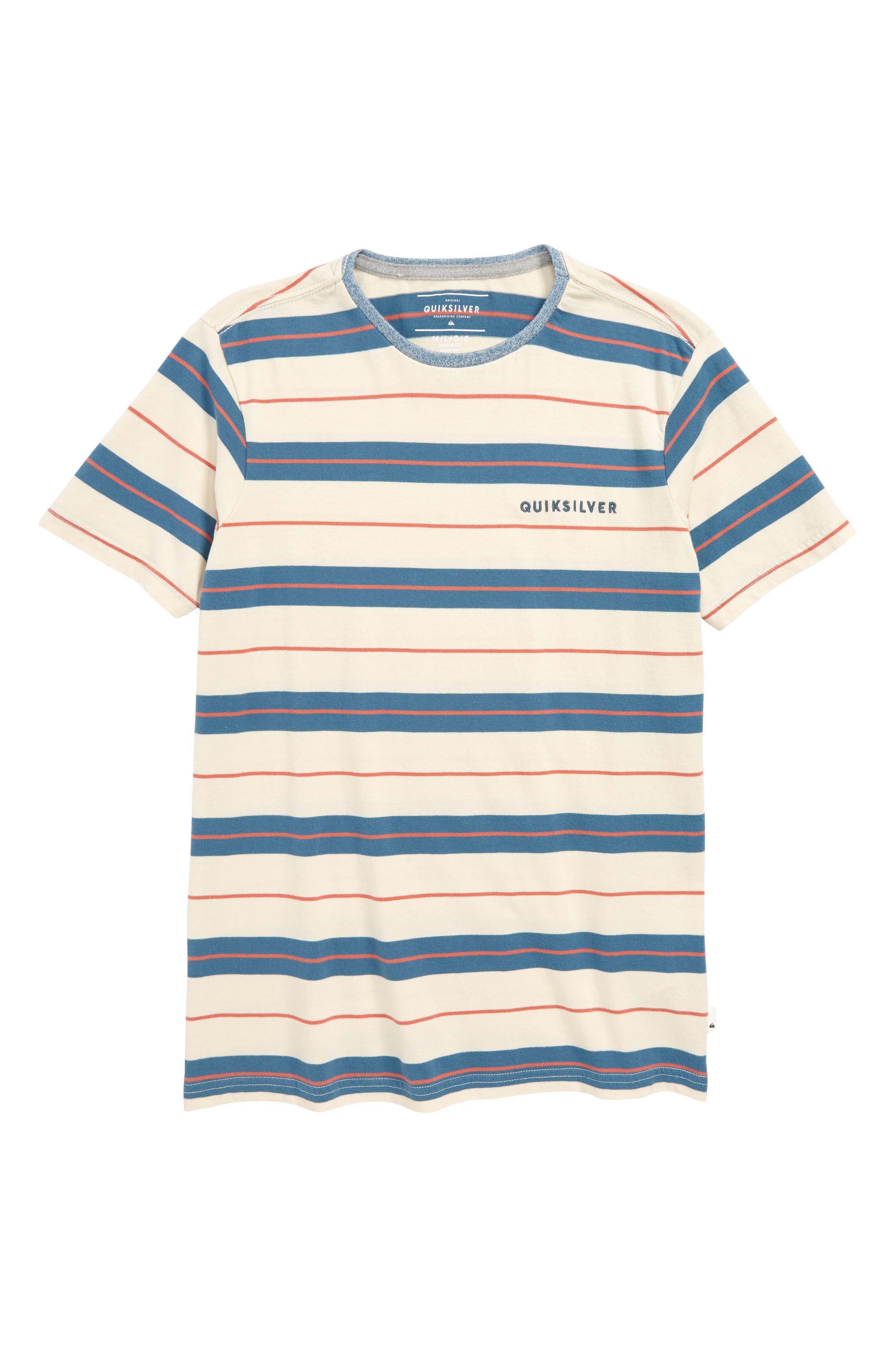 Dera Steps Stripe T-Shirt,                             Main thumbnail 1, color,                             TAPESTRY