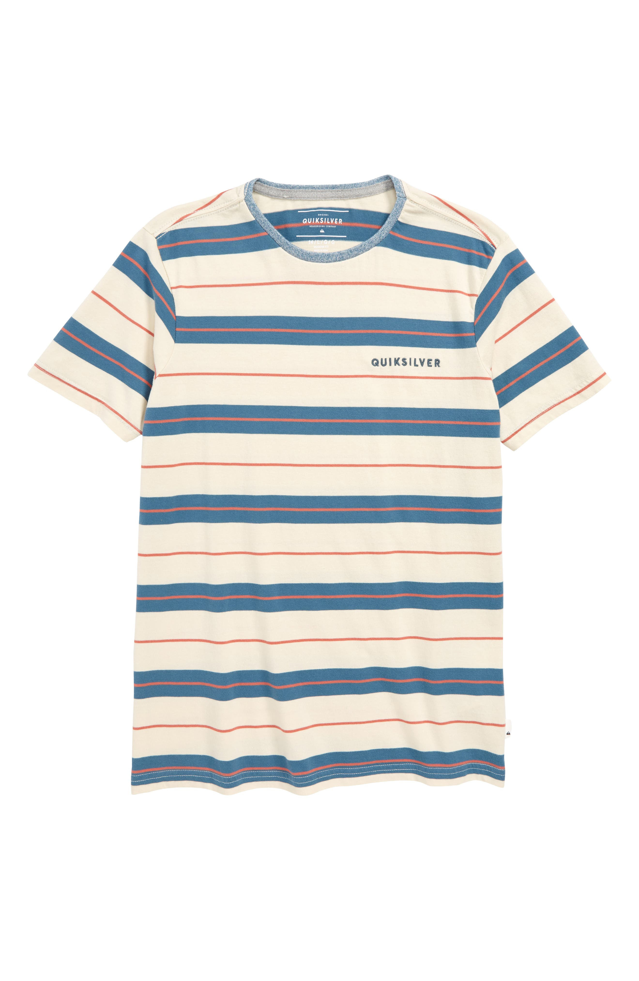 Dera Steps Stripe T-Shirt,                         Main,                         color, TAPESTRY