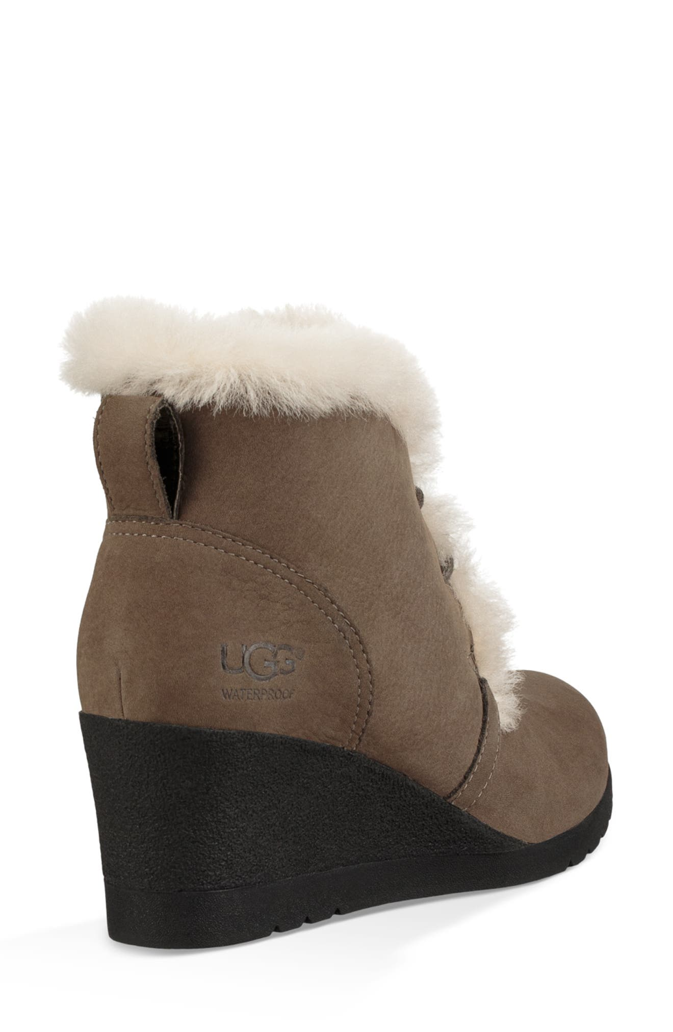 Jeovana Waterproof Genuine Shearling Lined Boot,                             Alternate thumbnail 2, color,                             MYSTERIOUS