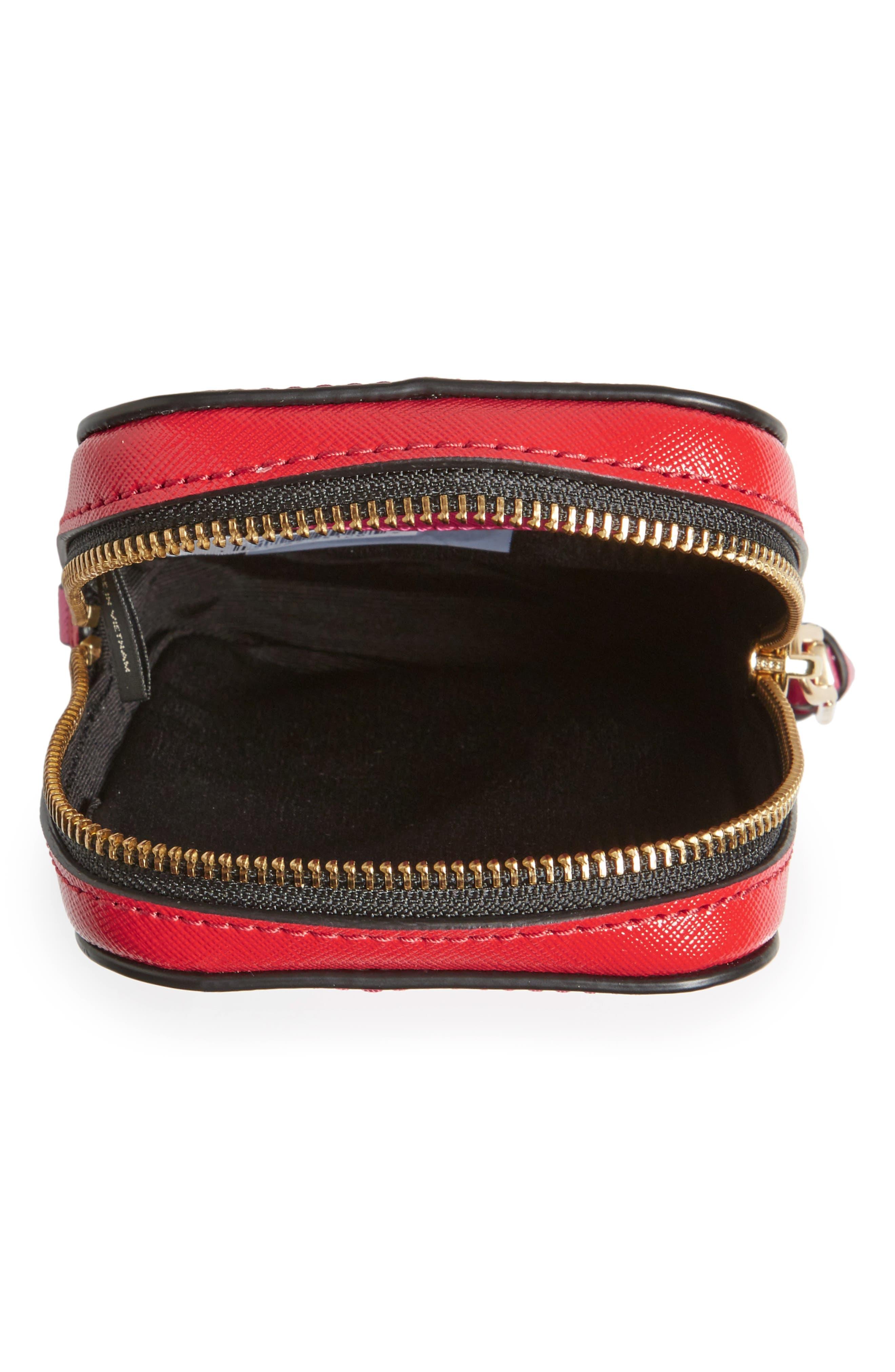 Hot Shot Saffiano Leather Shoulder Bag,                             Alternate thumbnail 14, color,