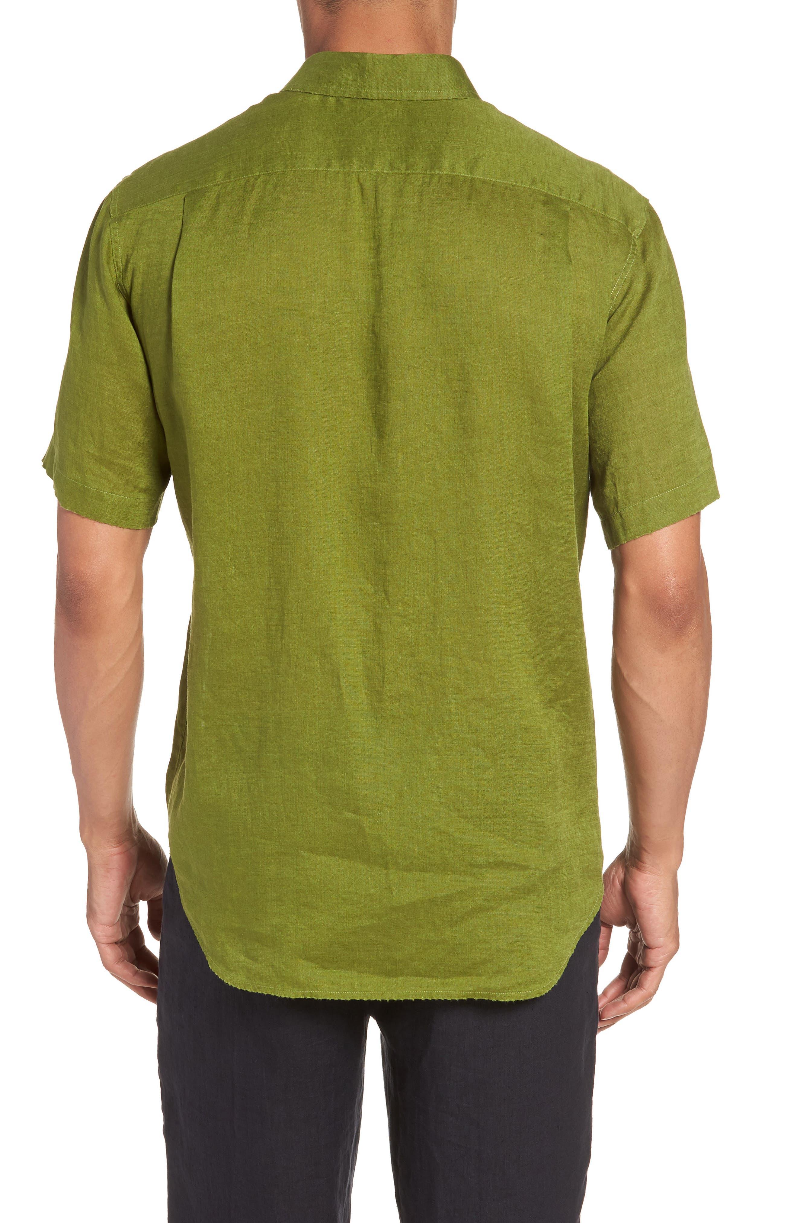 Classic Fit Sport Shirt,                             Alternate thumbnail 2, color,                             PASTURE