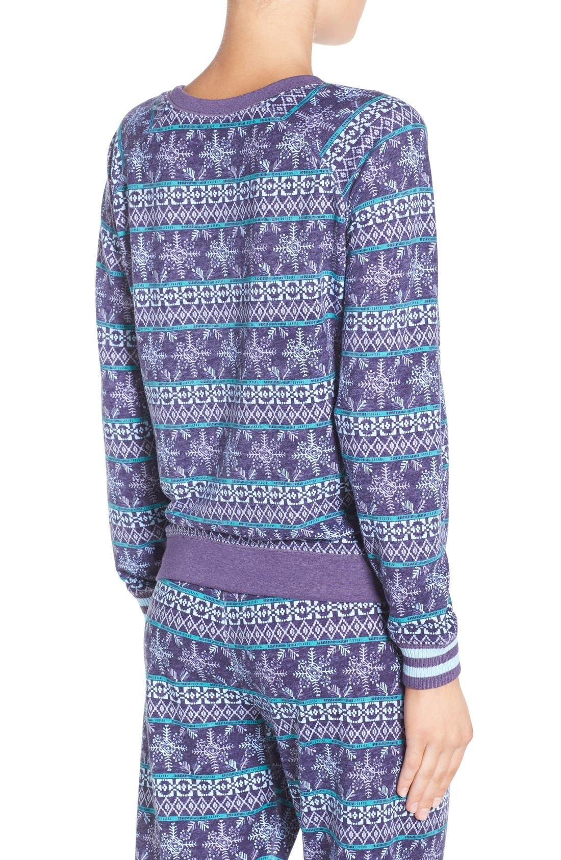 Burnout Lounge Sweatshirt,                             Alternate thumbnail 338, color,