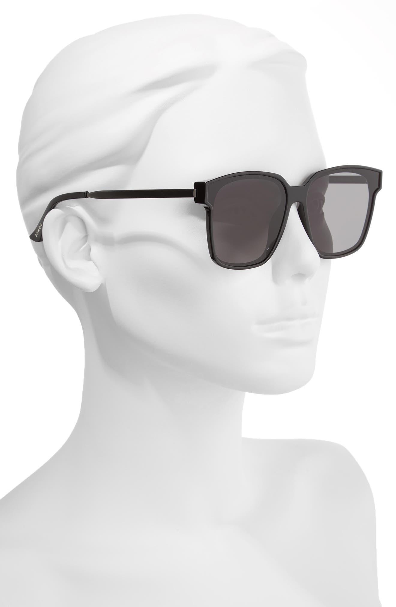Wall 62mm Square Mirror Lens Sunglasses,                             Alternate thumbnail 6, color,