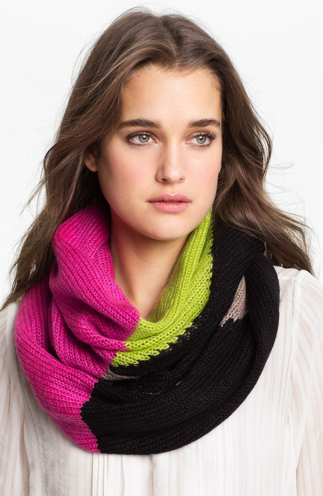 'Block Party' Infinity Scarf,                             Main thumbnail 2, color,