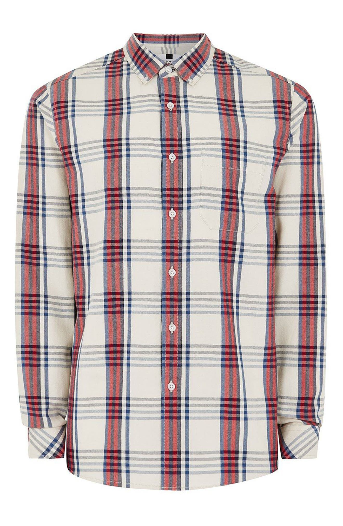 Check Shirt,                             Alternate thumbnail 4, color,                             250