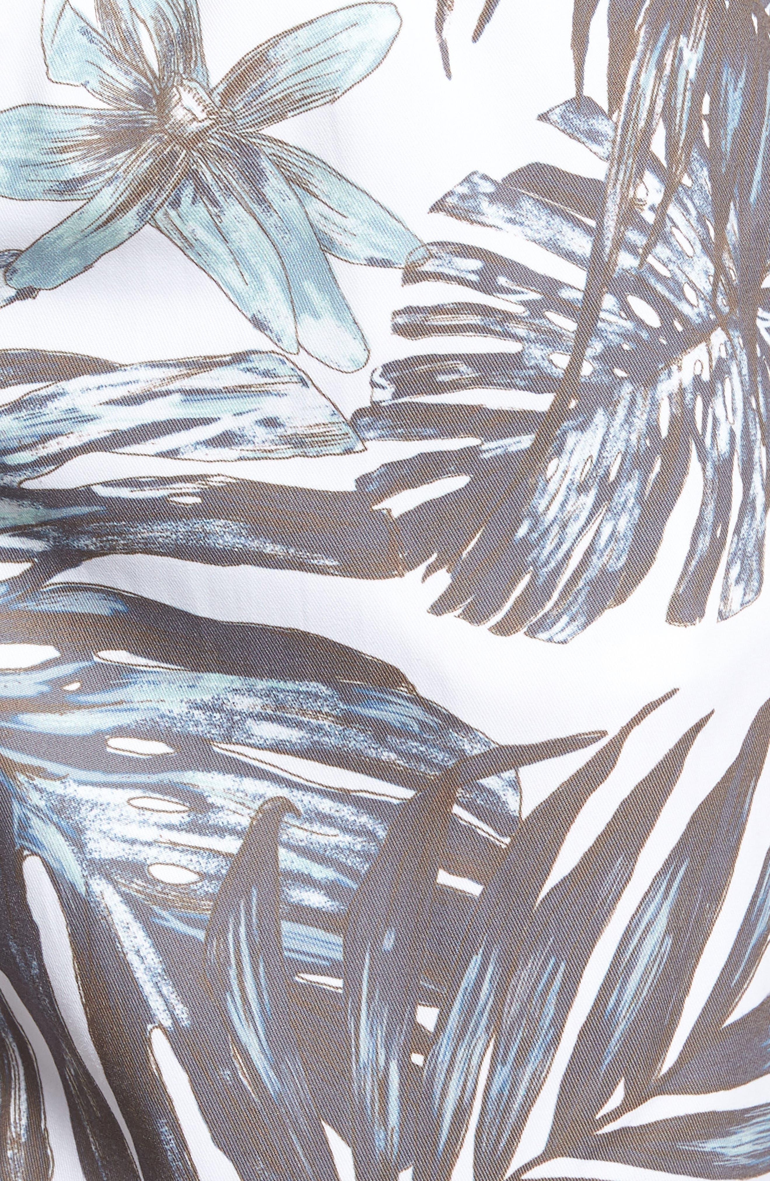 Amalfi Stripe Swim Trunks,                             Alternate thumbnail 5, color,                             101