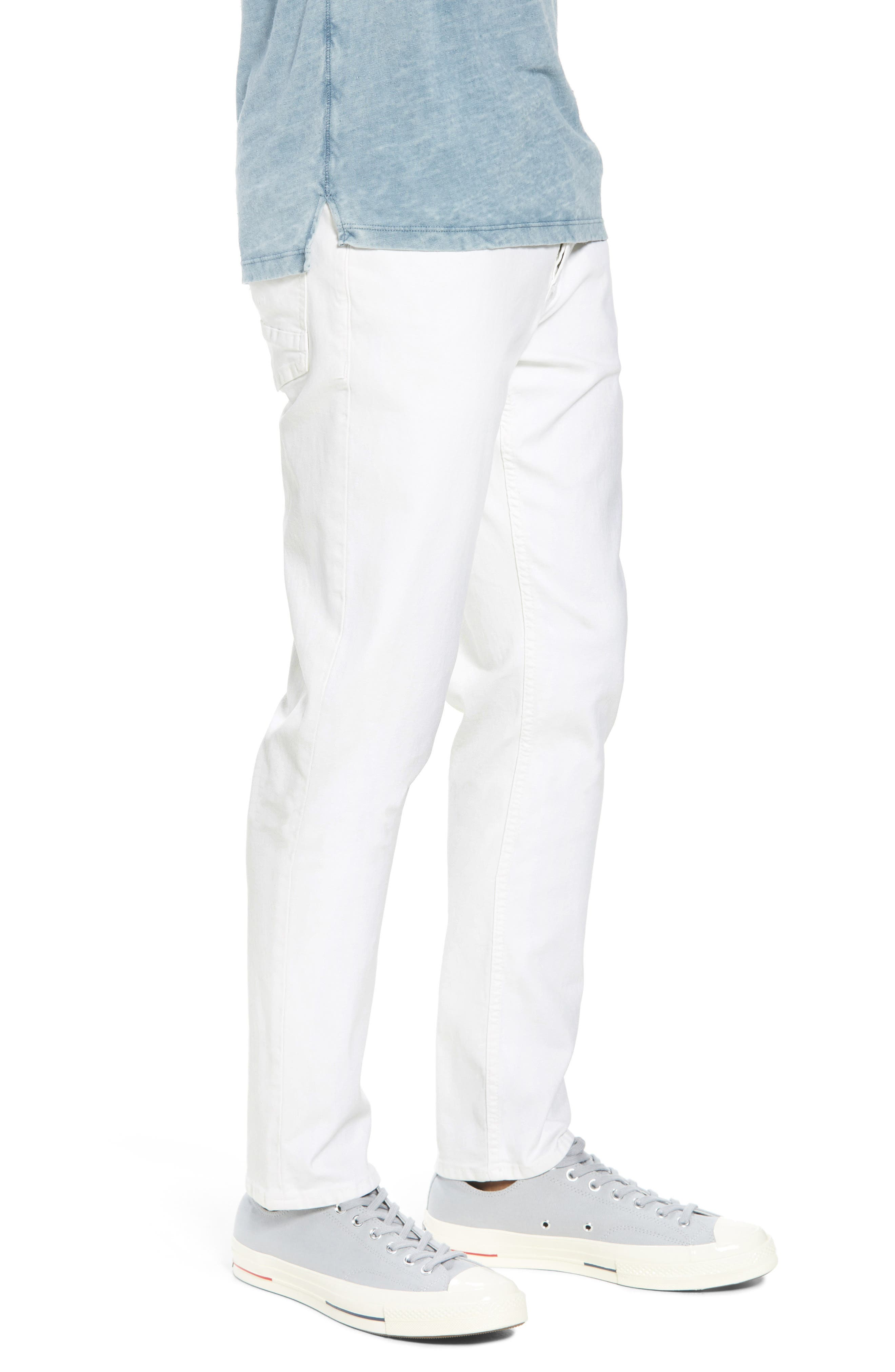 Sartor Slouchy Skinny Fit Jeans,                             Alternate thumbnail 3, color,                             110
