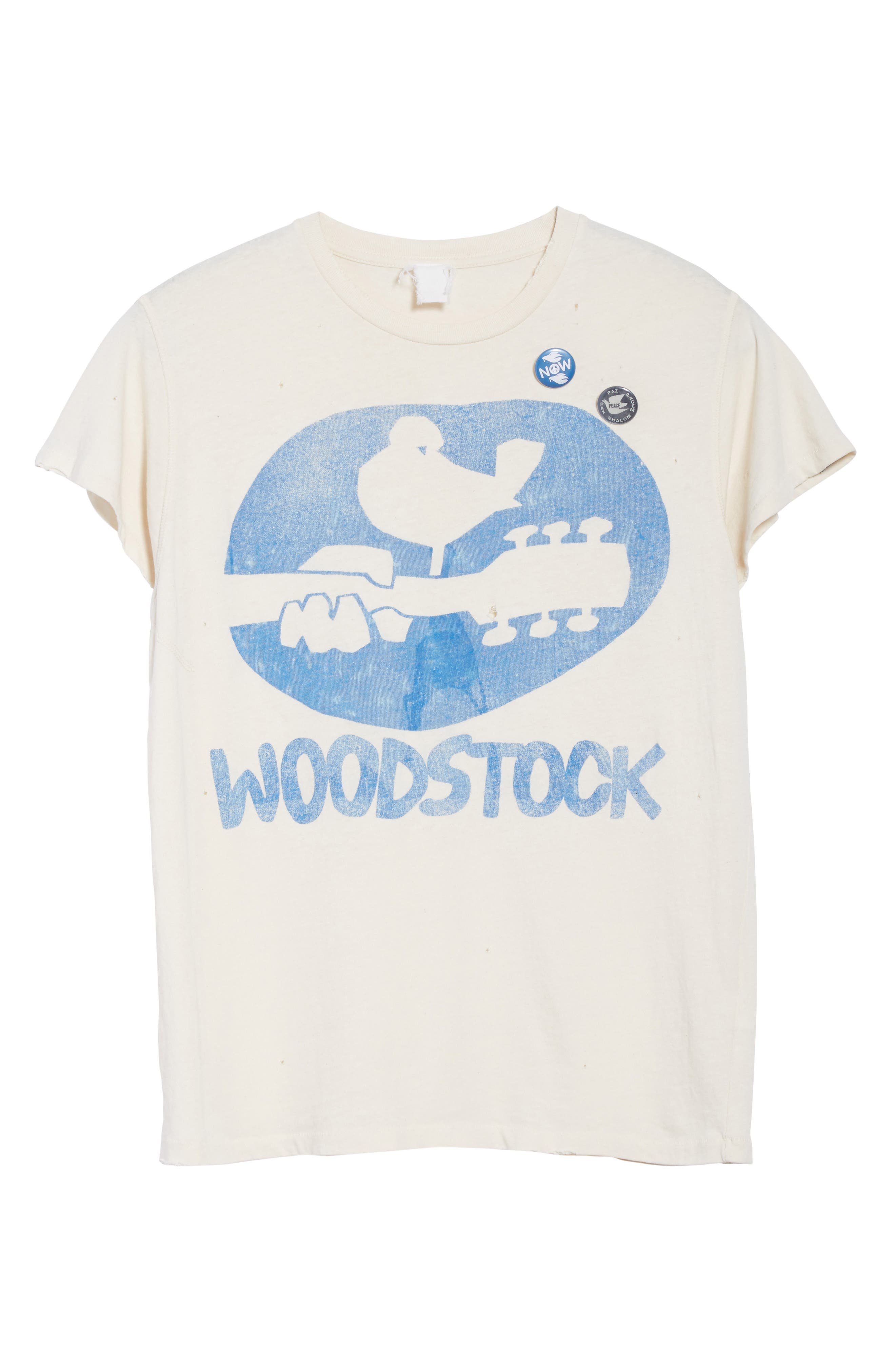 Woodstock Graphic T-Shirt with Badges,                             Alternate thumbnail 6, color,