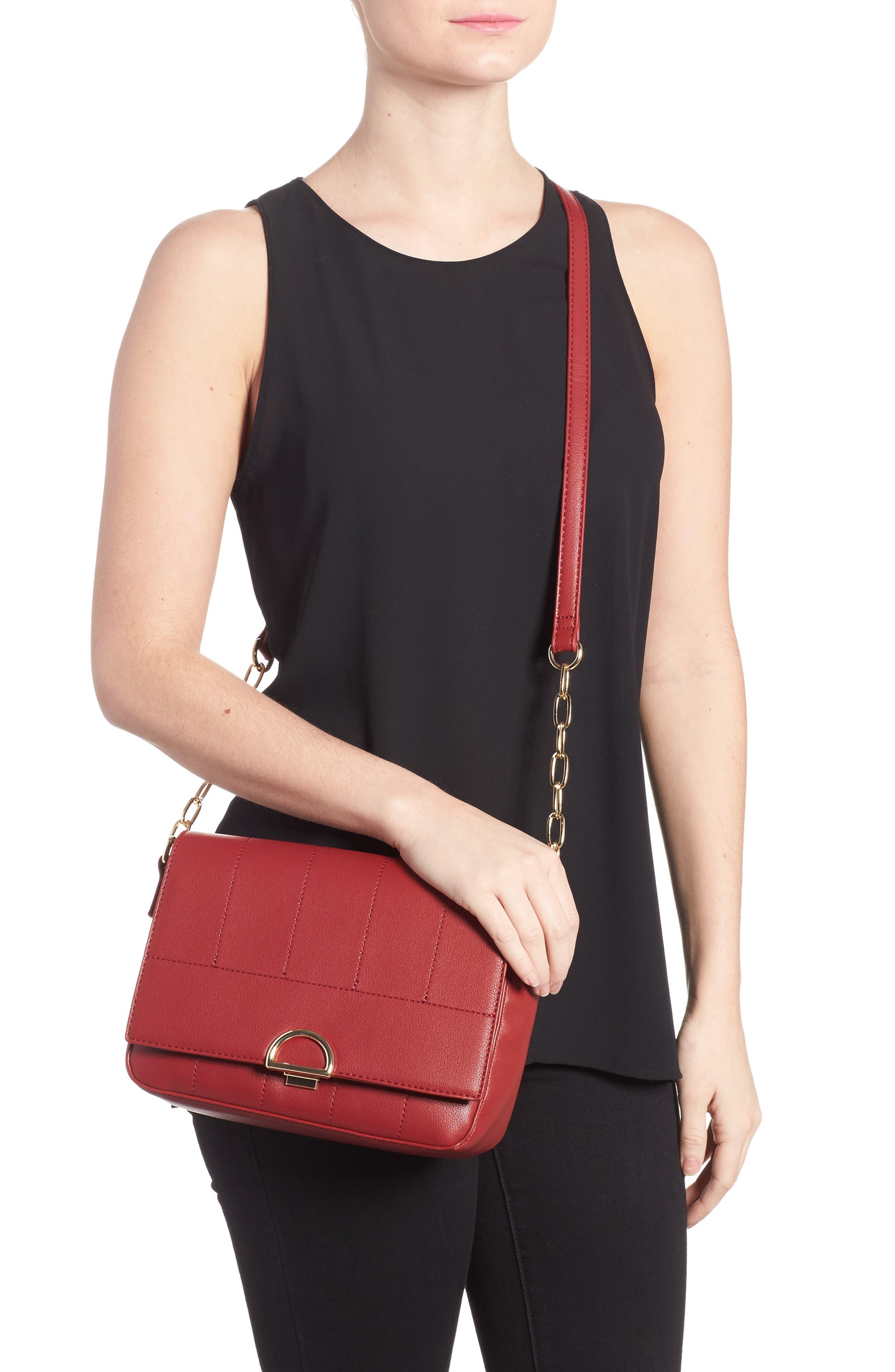 Colie Faux Leather Crossbody Bag,                             Alternate thumbnail 6, color,