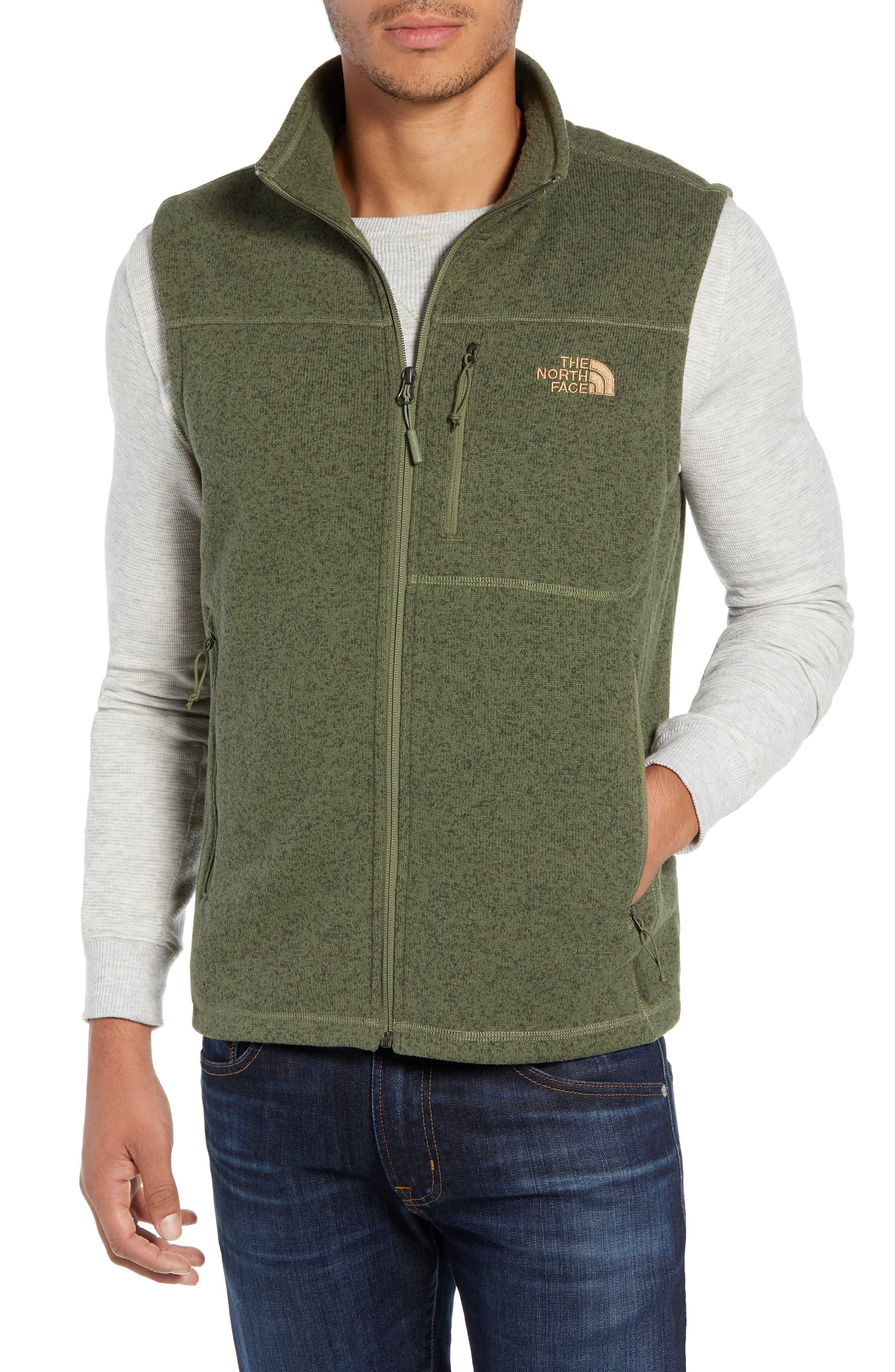 Gordon Lyons Zip Fleece Vest,                             Main thumbnail 4, color,