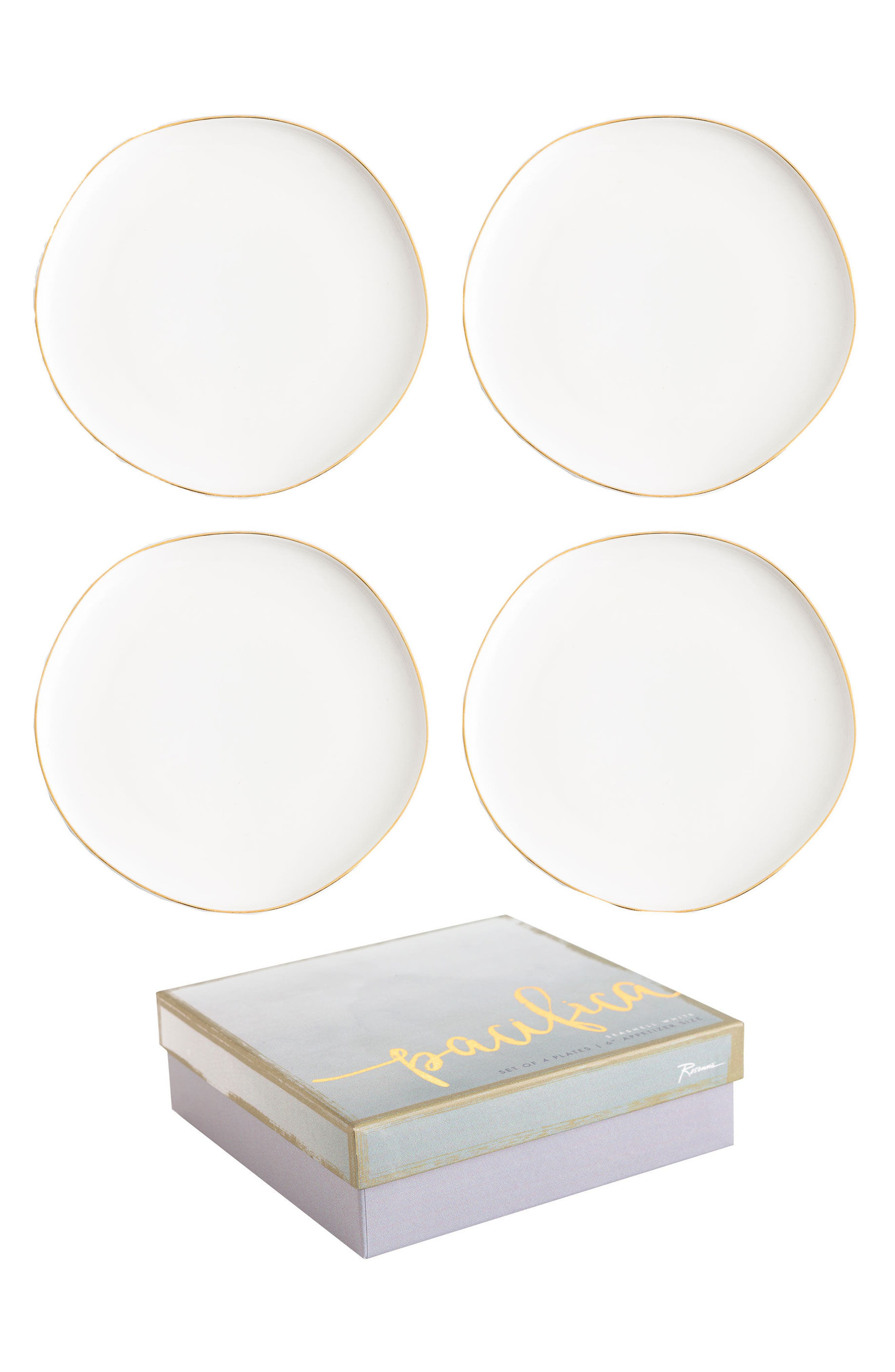 Pacifica Set of 4 Plates,                         Main,                         color, 100