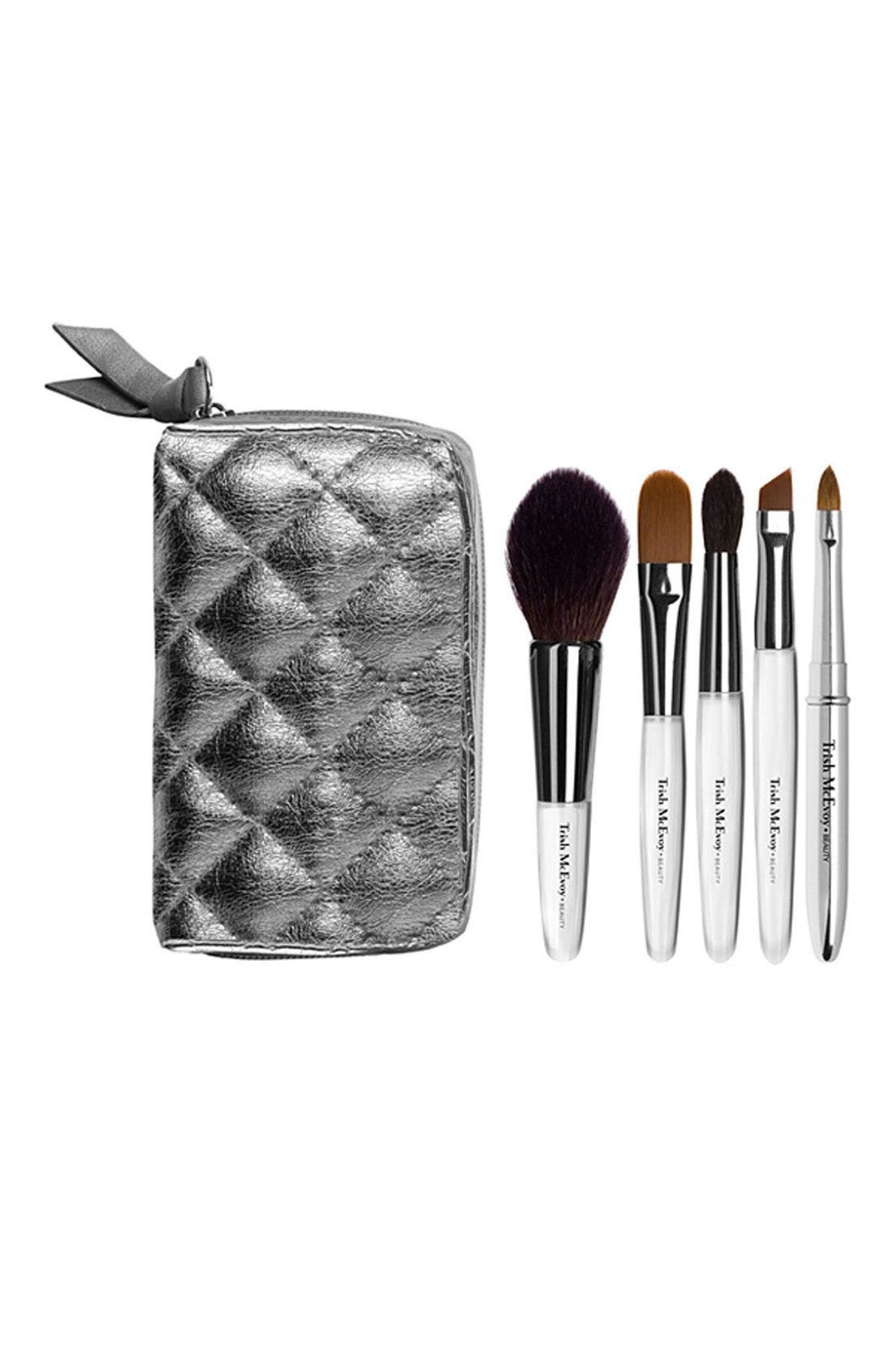 Portable Beauty Brush Set,                             Main thumbnail 1, color,                             000