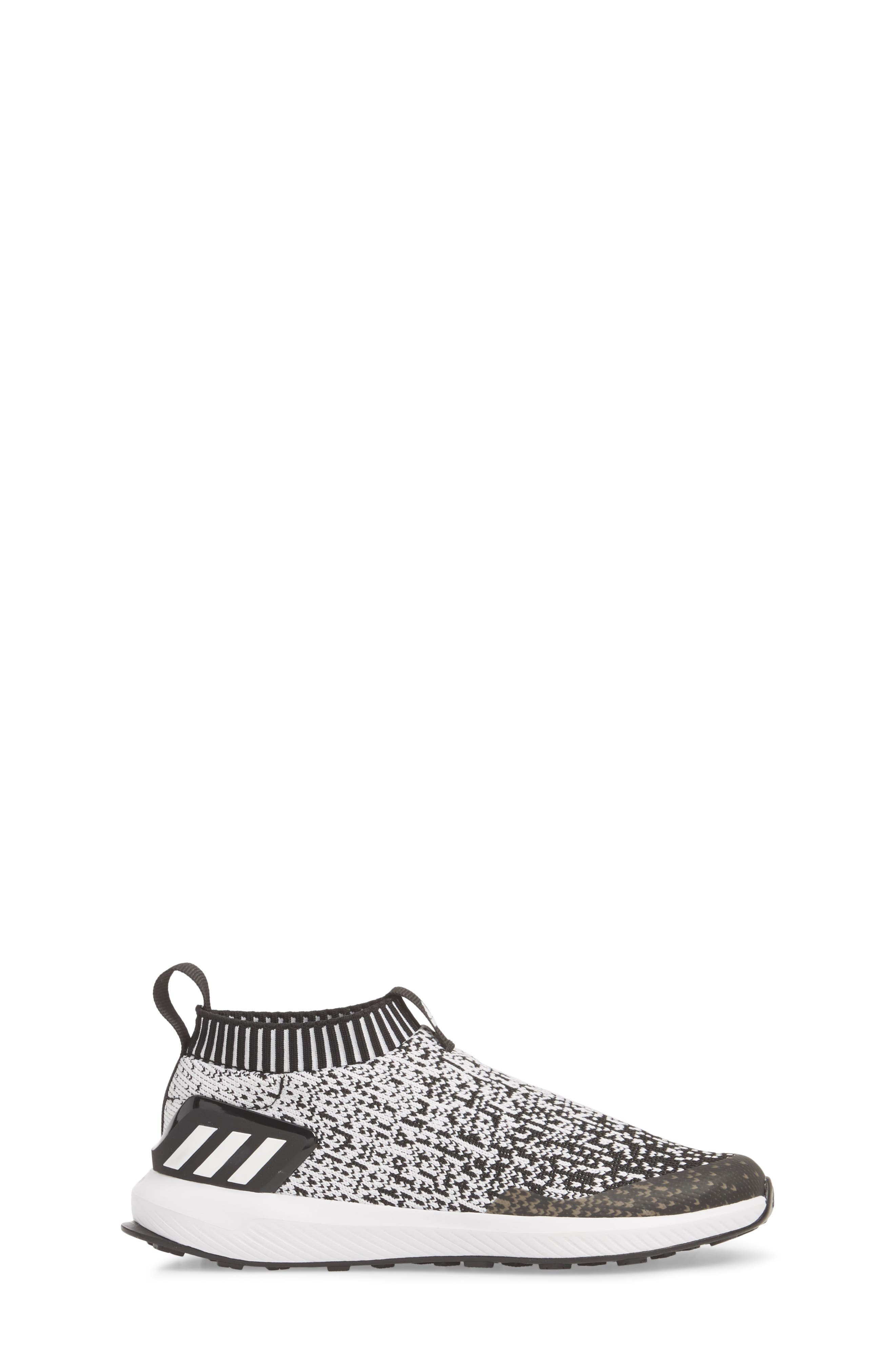 RapidaRun Laceless Knit Sneaker,                             Alternate thumbnail 3, color,                             001