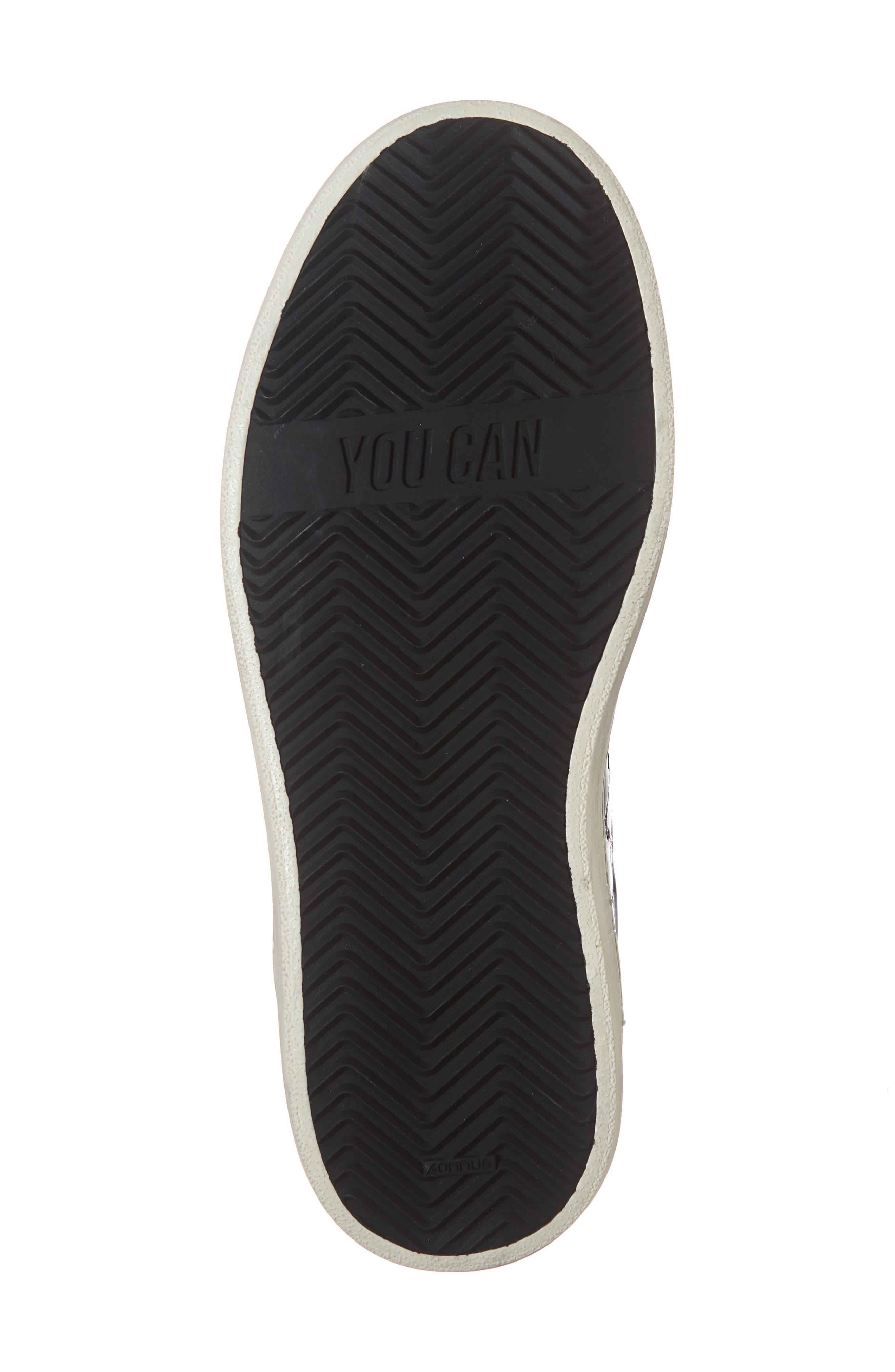John Sneaker,                             Alternate thumbnail 6, color,                             VYNIL BLACK