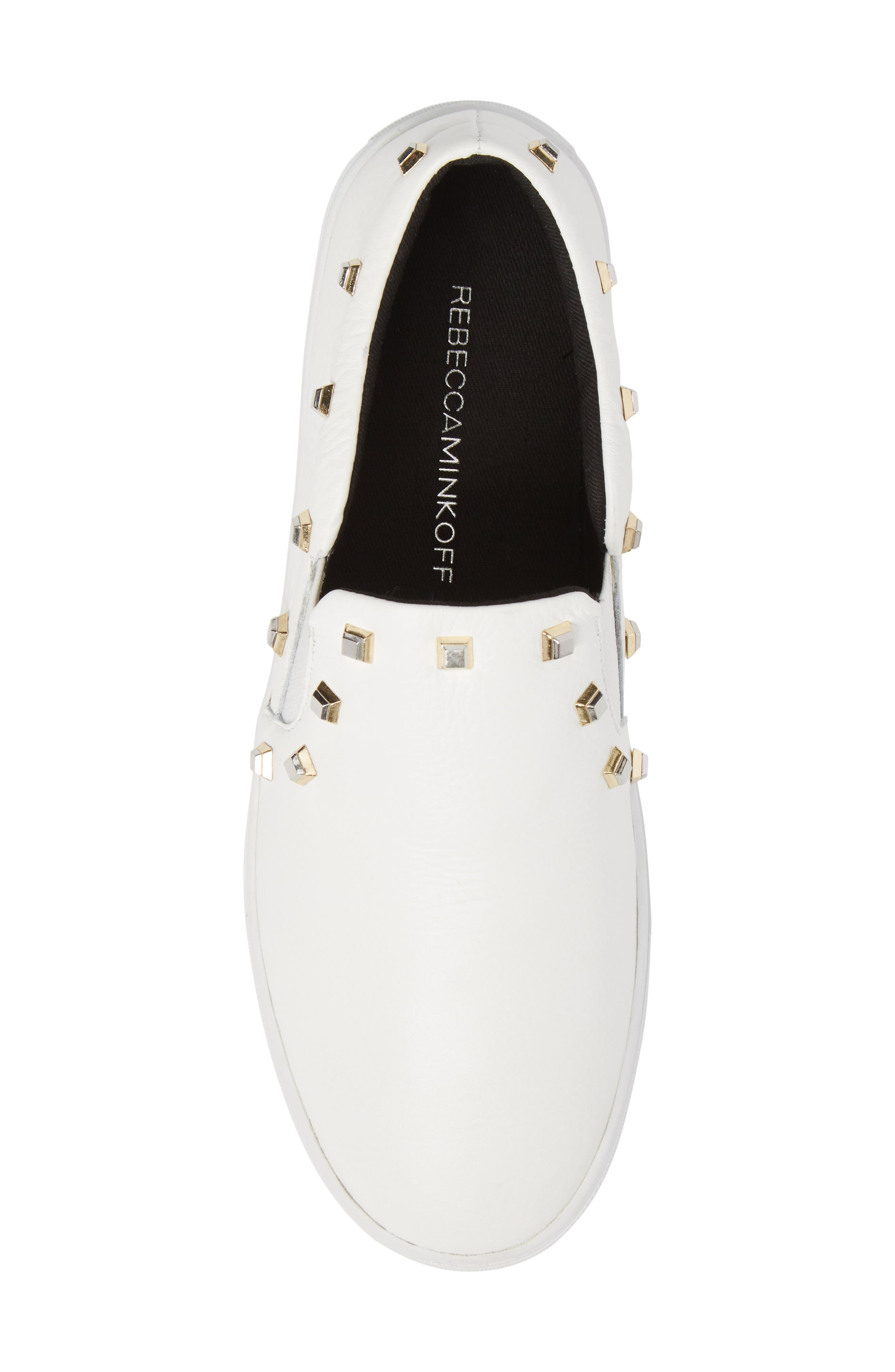 Nora Stud Platform Sneaker,                             Alternate thumbnail 10, color,