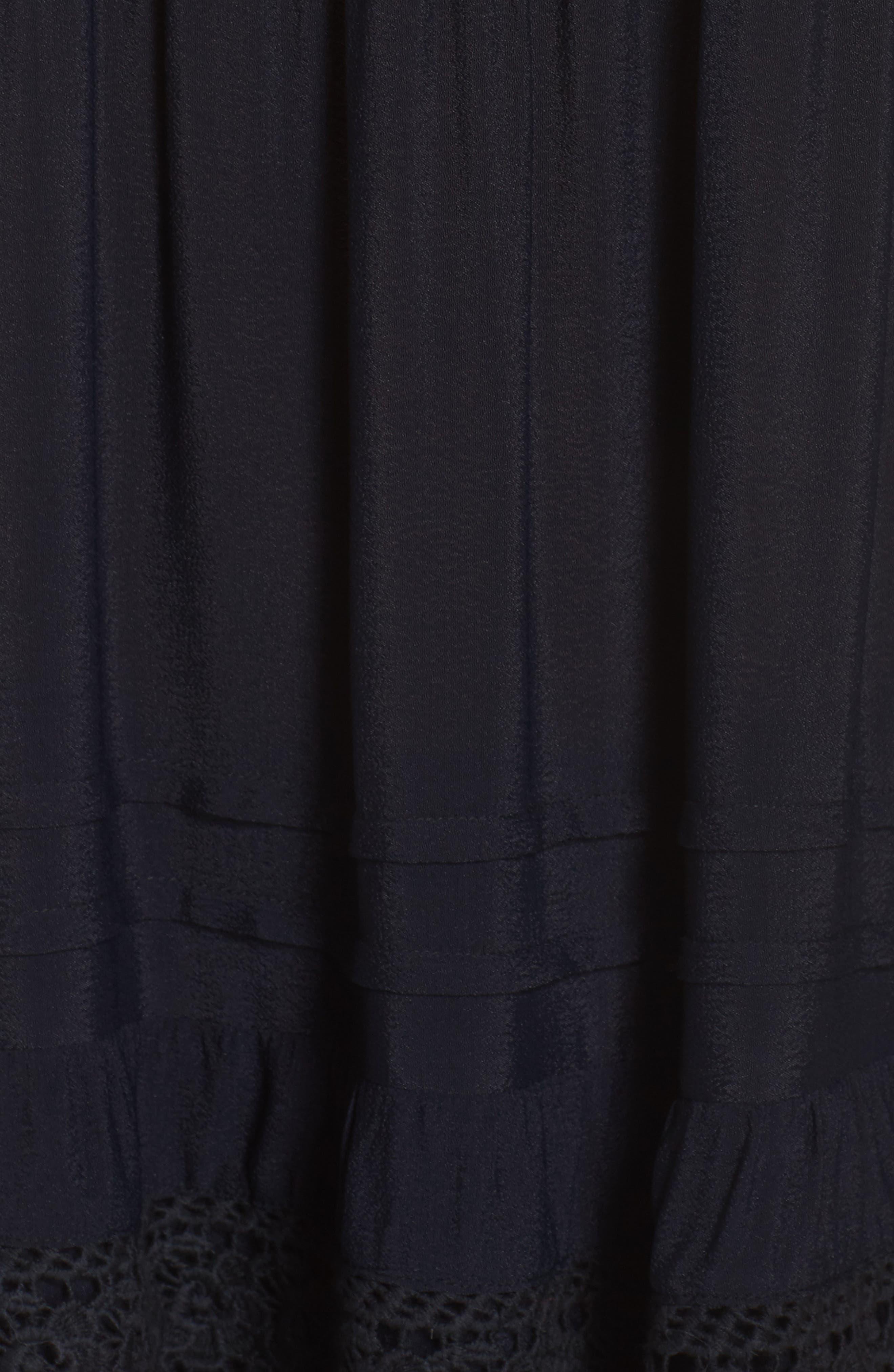 Esmerelda Off the Shoulder Cover-Up Maxi Dress,                             Alternate thumbnail 9, color,
