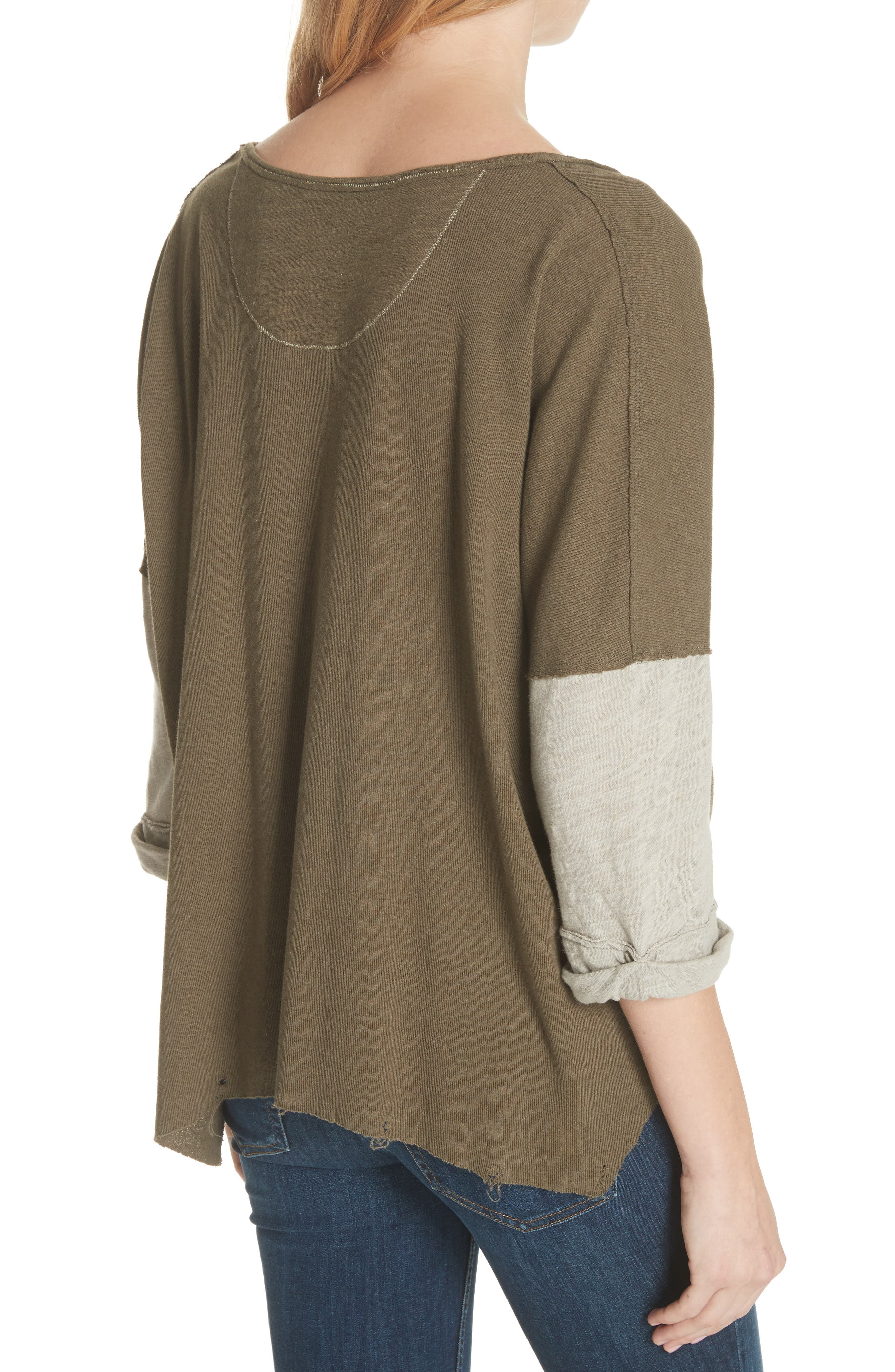 We the Free Star Henley Top,                             Alternate thumbnail 2, color,                             352
