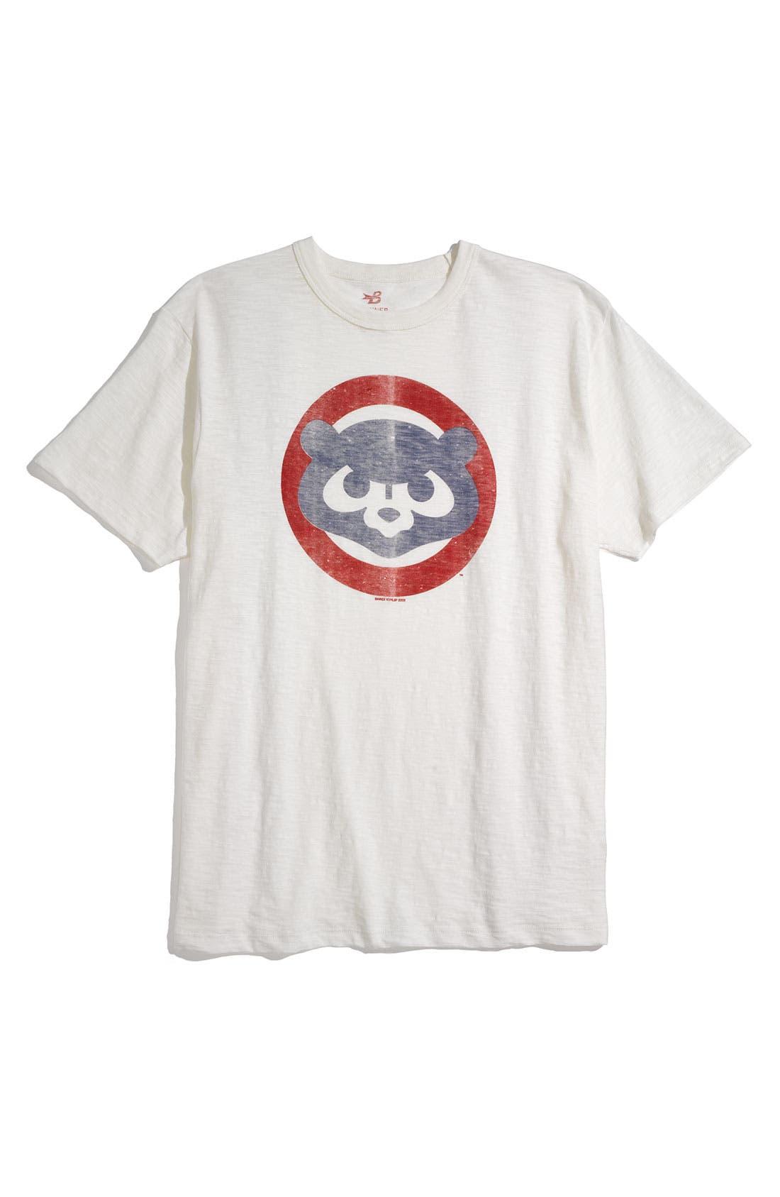 'Chicago Cubs' Regular Fit Crewneck T-Shirt,                             Main thumbnail 6, color,