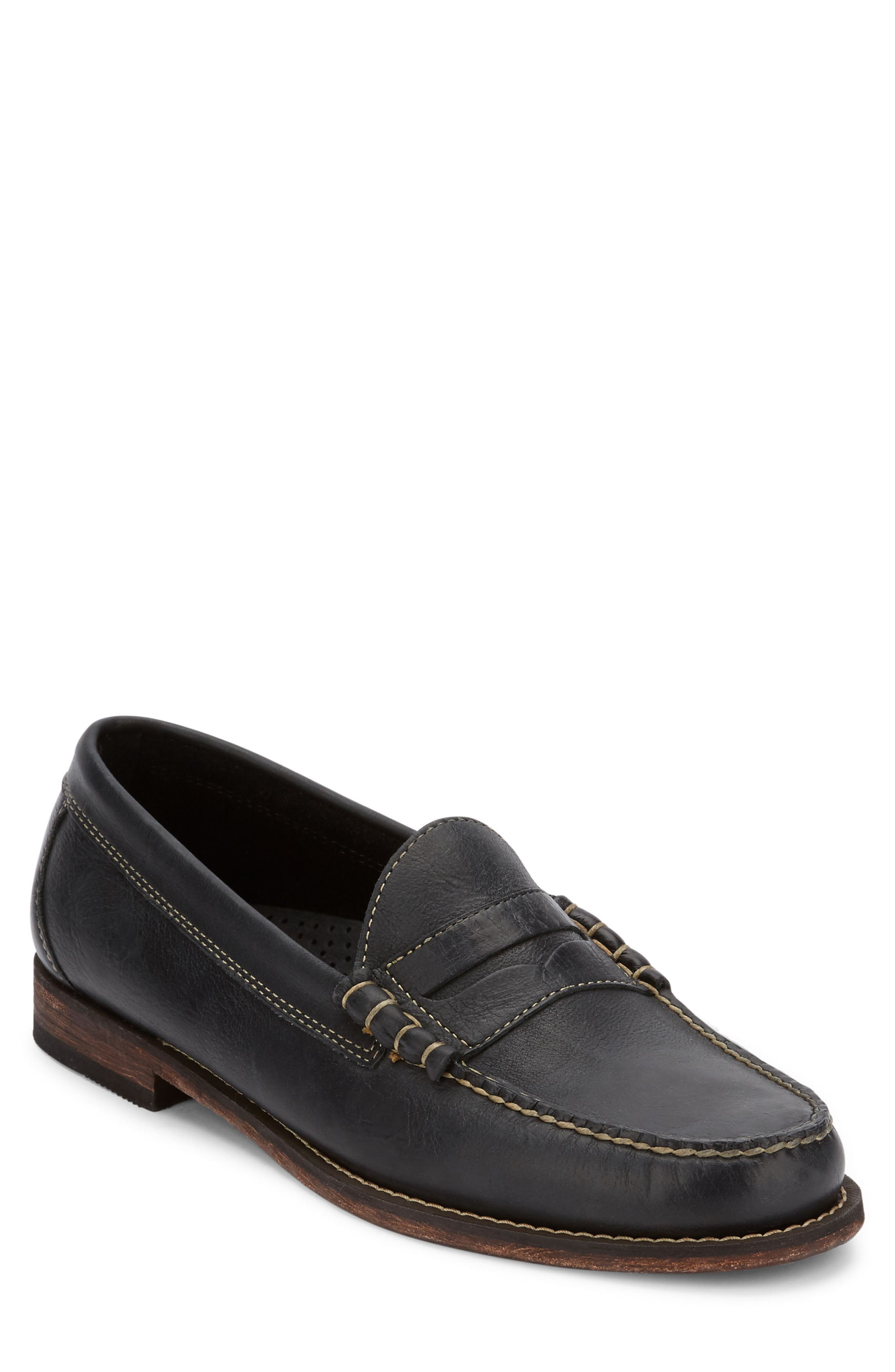 Hayden Penny Loafer,                             Main thumbnail 1, color,                             001