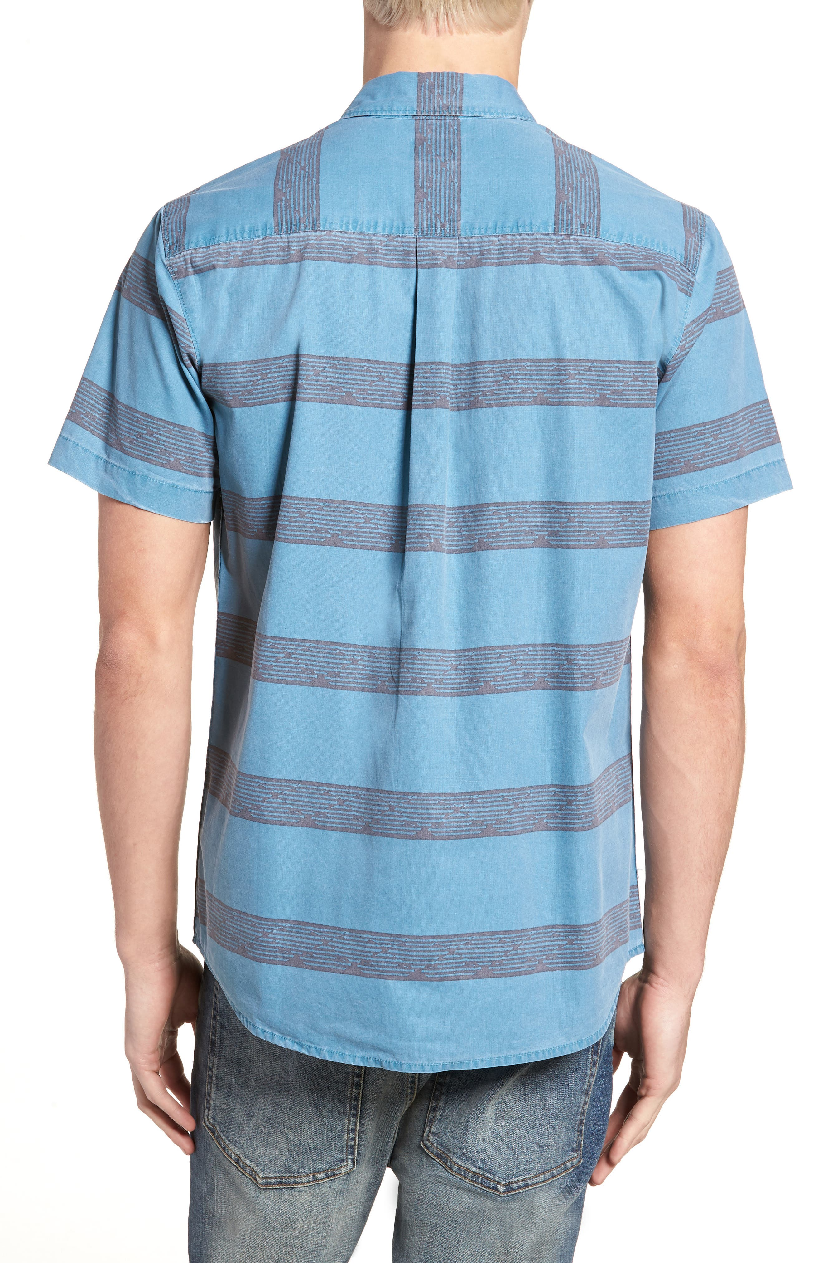 Wagner Woven Shirt,                             Alternate thumbnail 2, color,                             DEEP TEAL