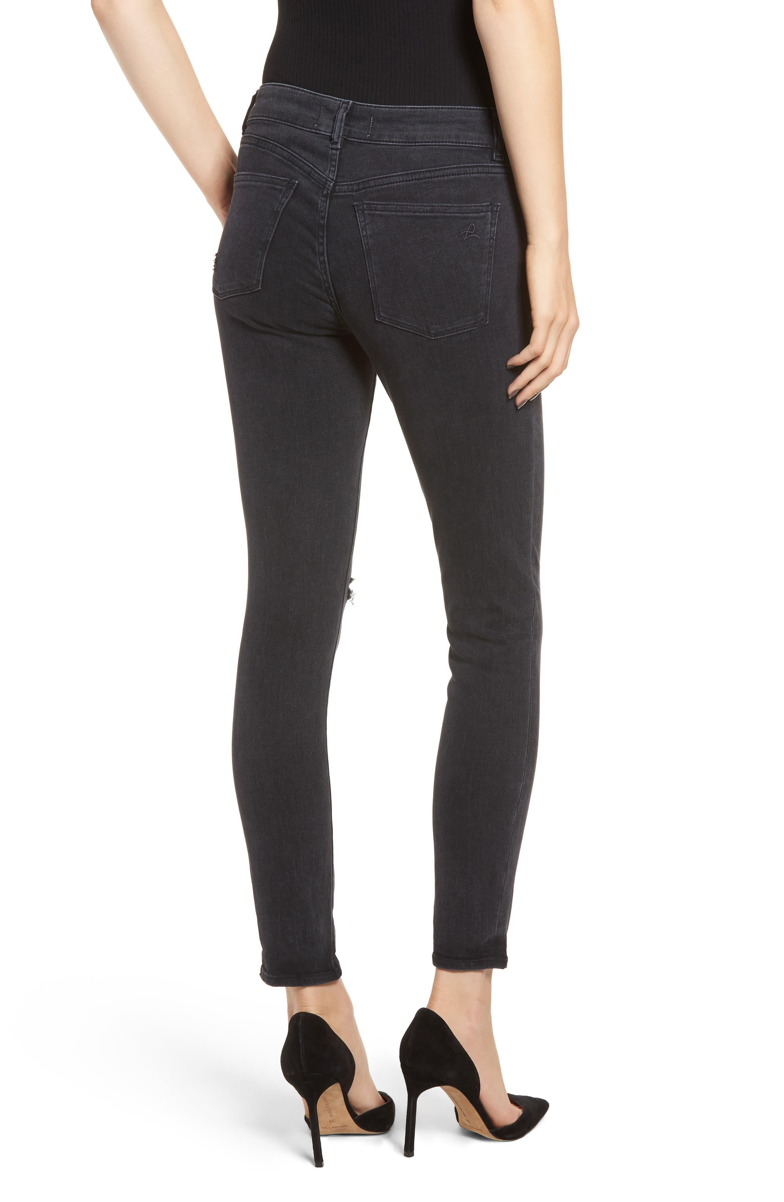Margaux Instasculpt Ankle Skinny Jeans,                             Alternate thumbnail 2, color,                             HYDE