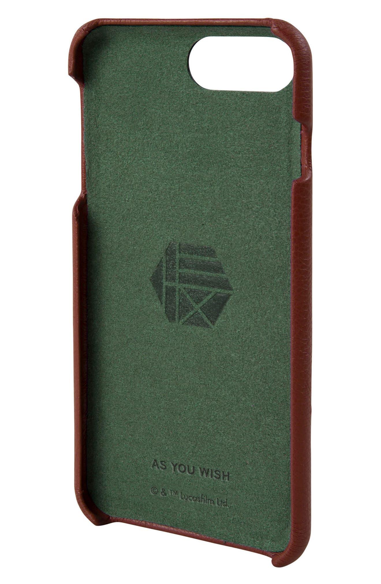 HEX,                             Boba Fett iPhone 6/6s/7/8 Plus Case,                             Main thumbnail 1, color,                             930