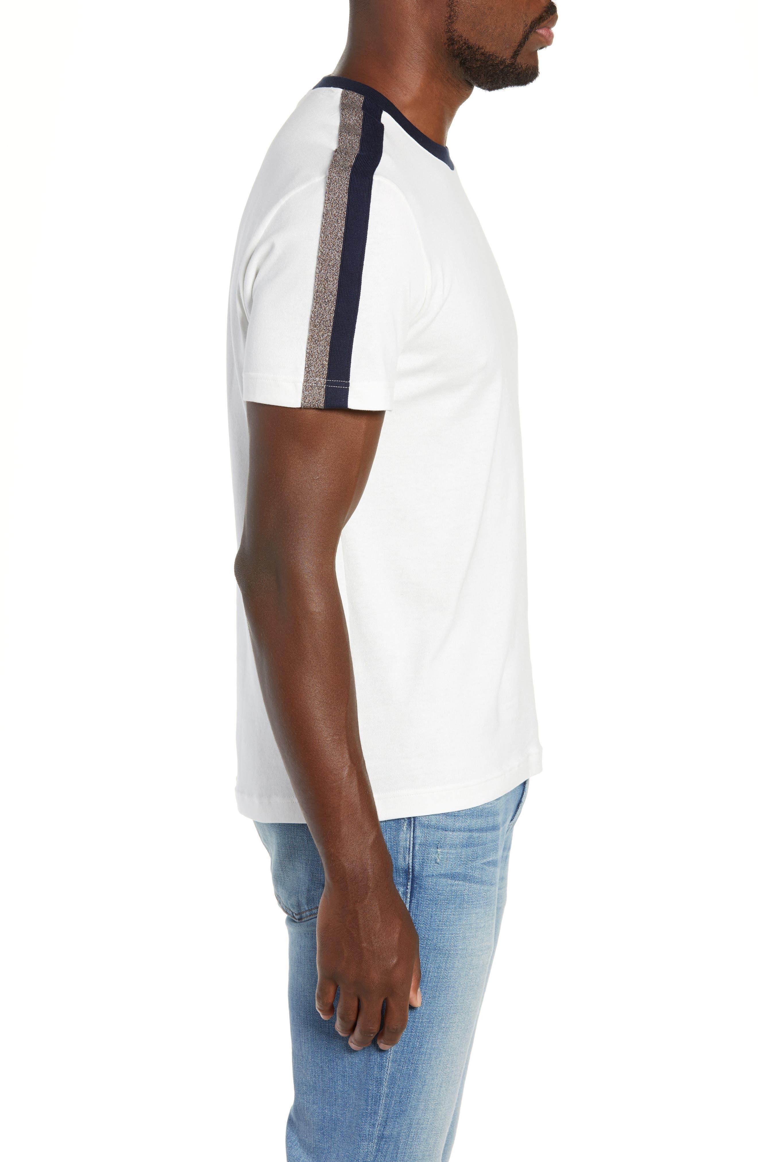 Regular Fit Contrast Jersey T-Shirt,                             Alternate thumbnail 3, color,                             104