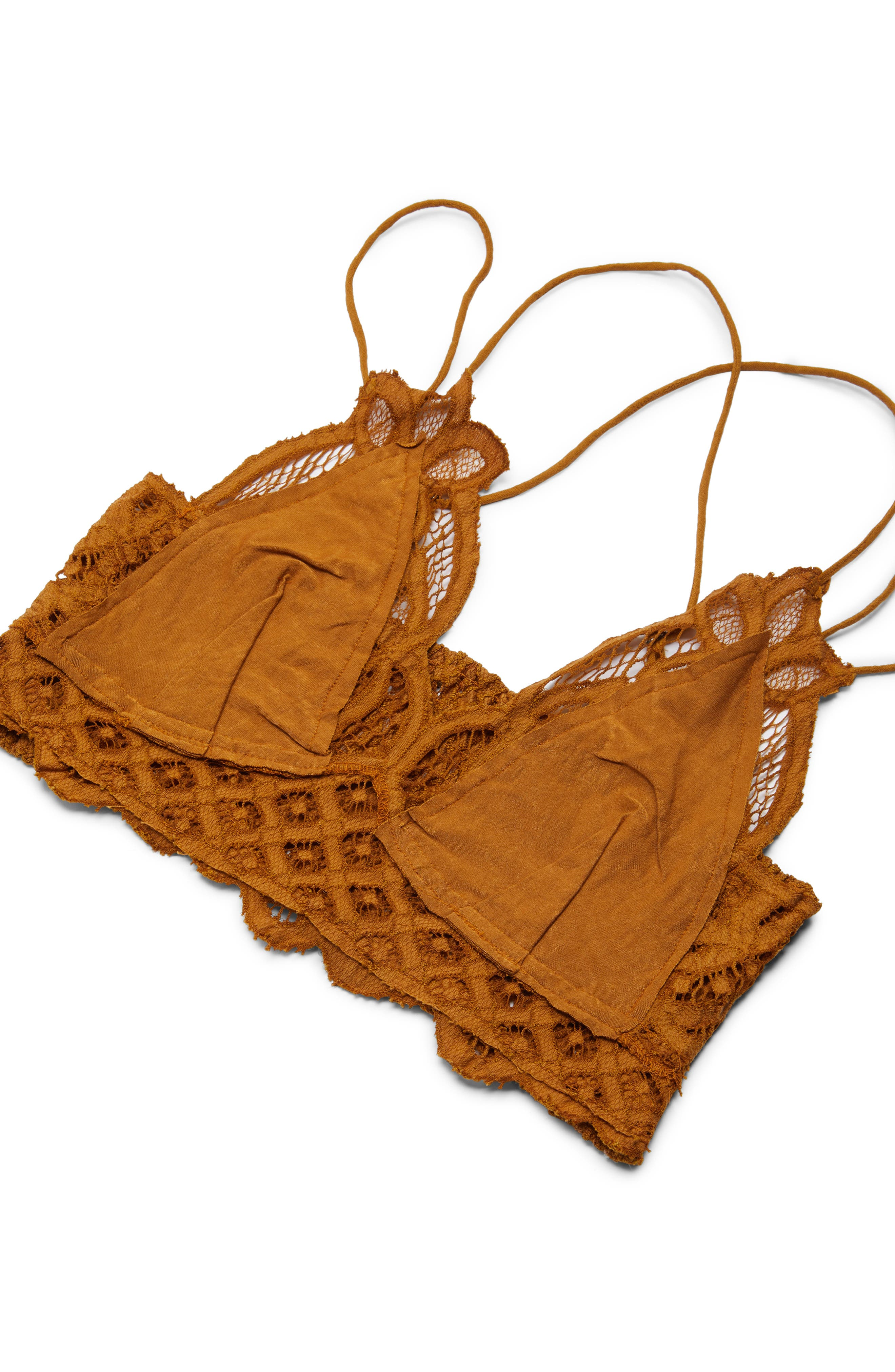 FREE PEOPLE,                             Intimately FP Adella Longline Bralette,                             Alternate thumbnail 5, color,                             GOLD