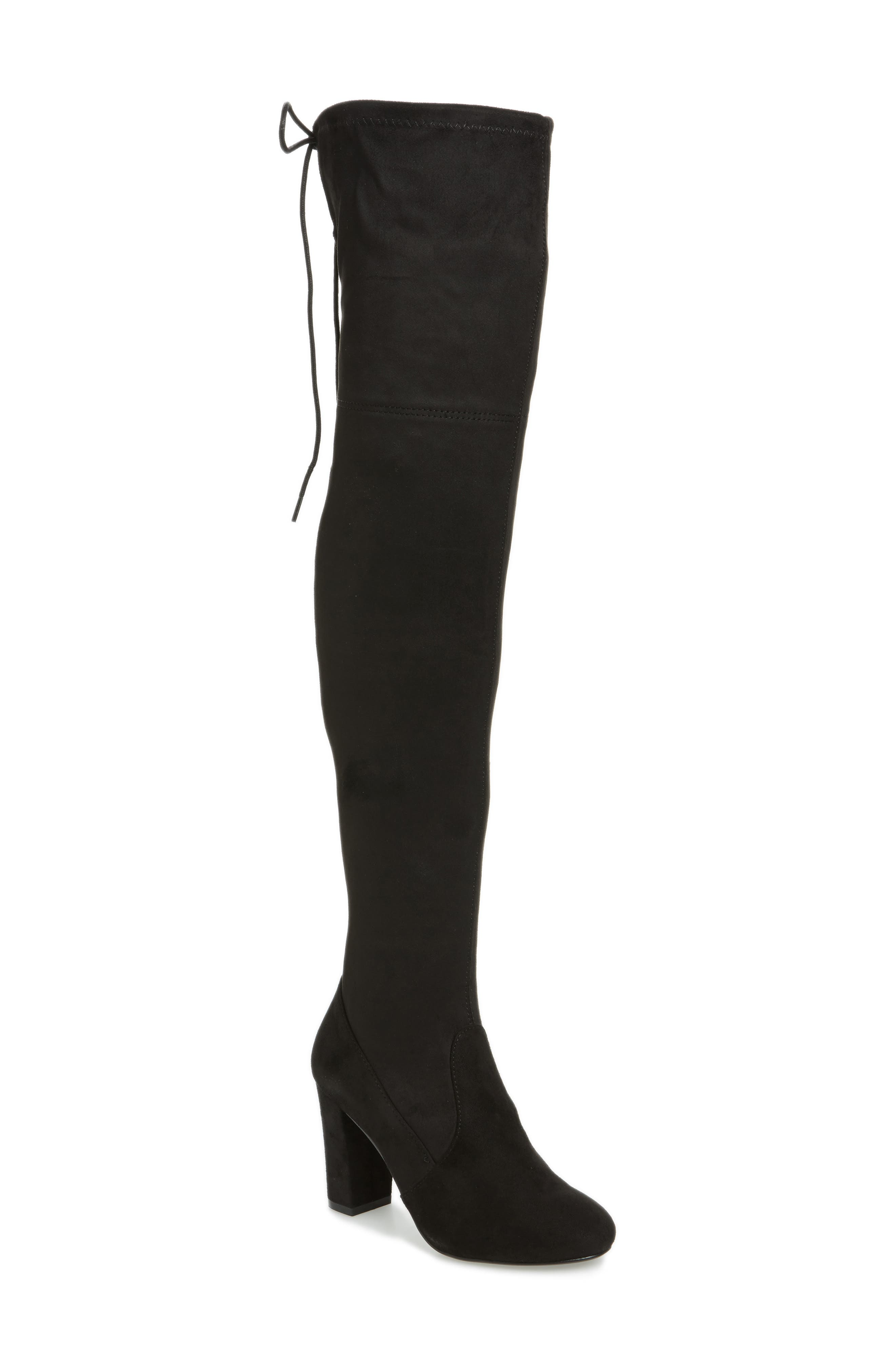 Brinna Over the Knee Boot,                             Main thumbnail 1, color,                             001