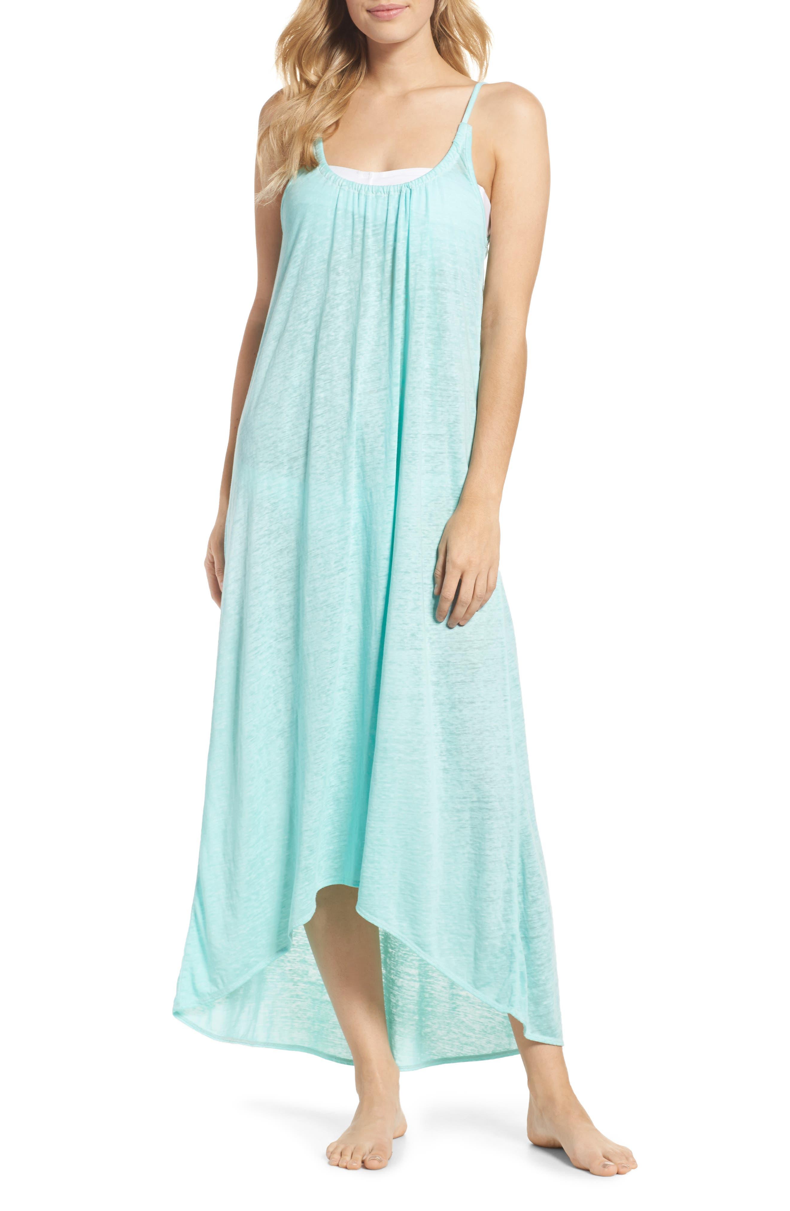 Maxi Cover-Up Dress,                             Main thumbnail 4, color,