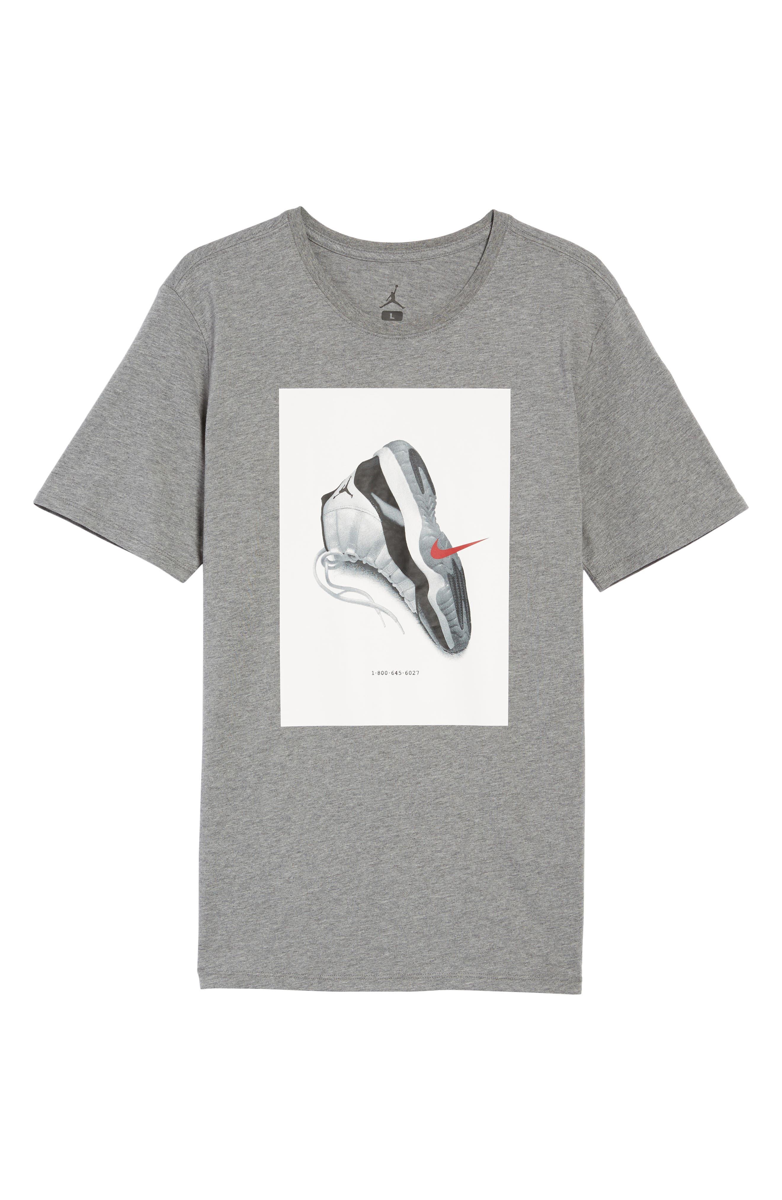 Sportswear AJ11 CNXN Graphic T-Shirt,                             Alternate thumbnail 11, color,