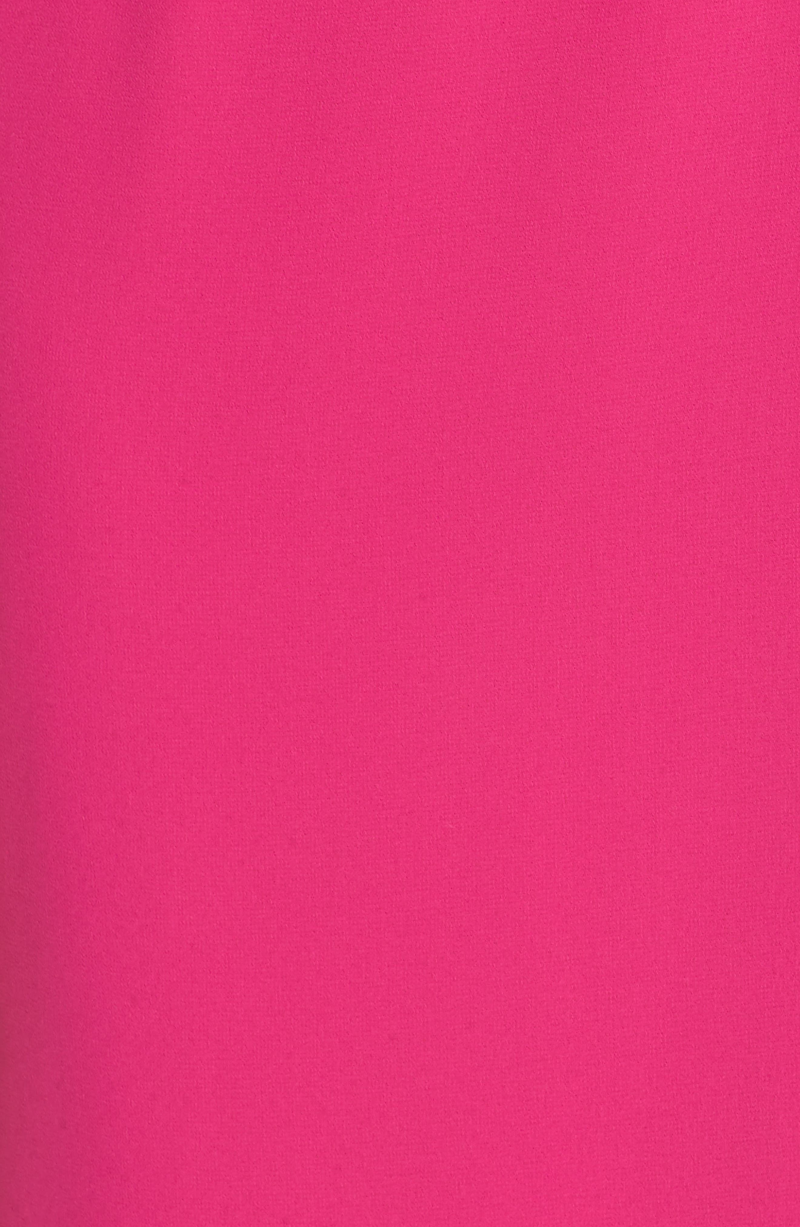 Asymmetrical Ruffle Column Gown,                             Alternate thumbnail 6, color,                             650