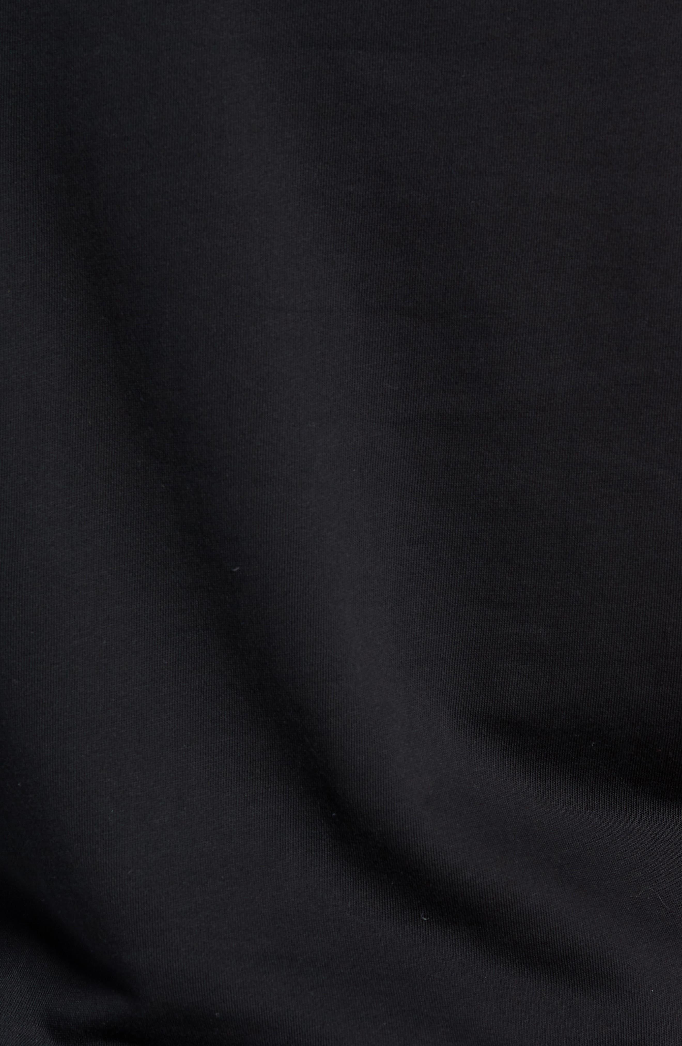 Versa Hoodie Sweatshirt,                             Alternate thumbnail 5, color,                             BLACK