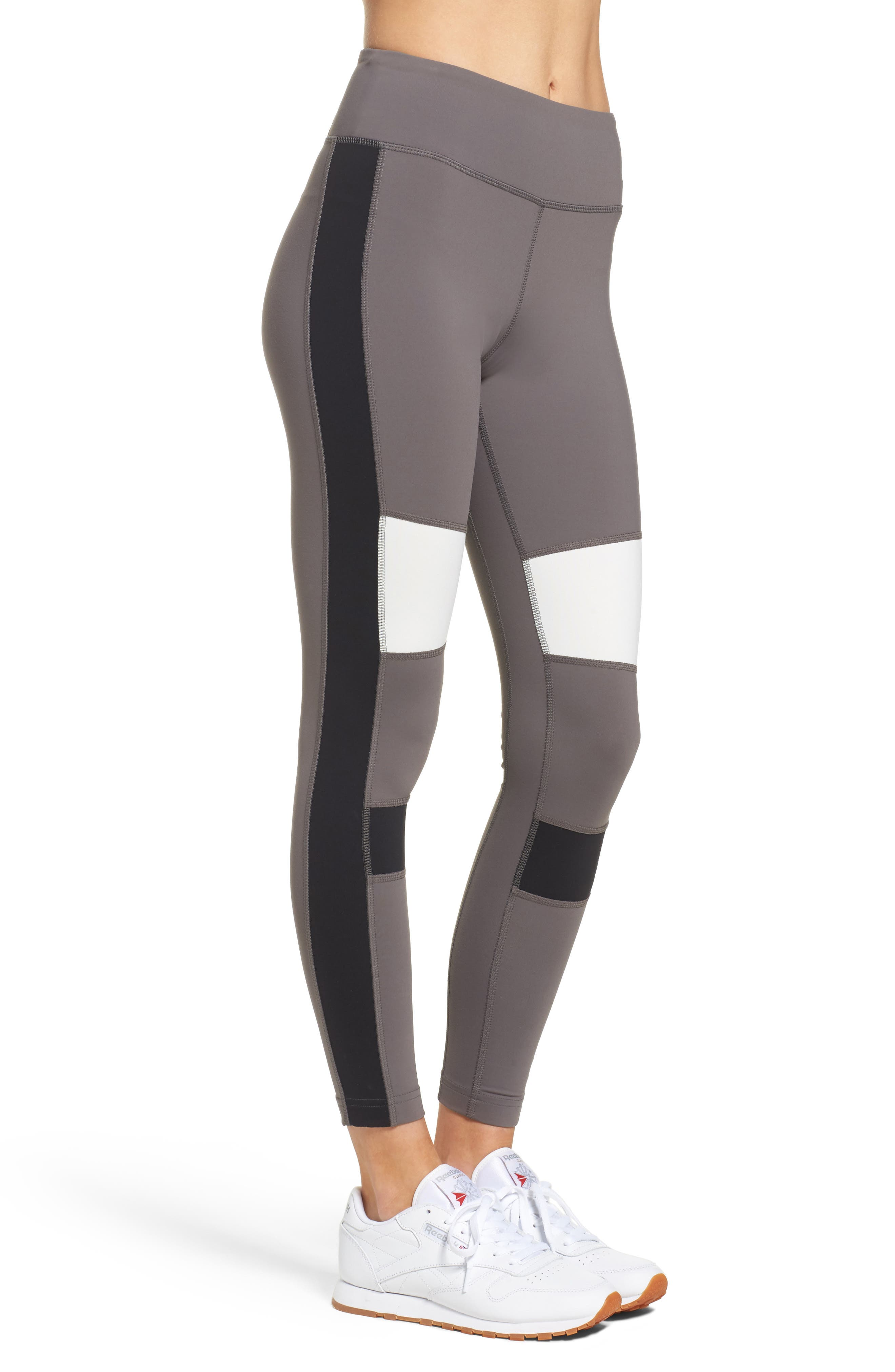 Lux Colorblock Tights,                             Alternate thumbnail 3, color,                             024