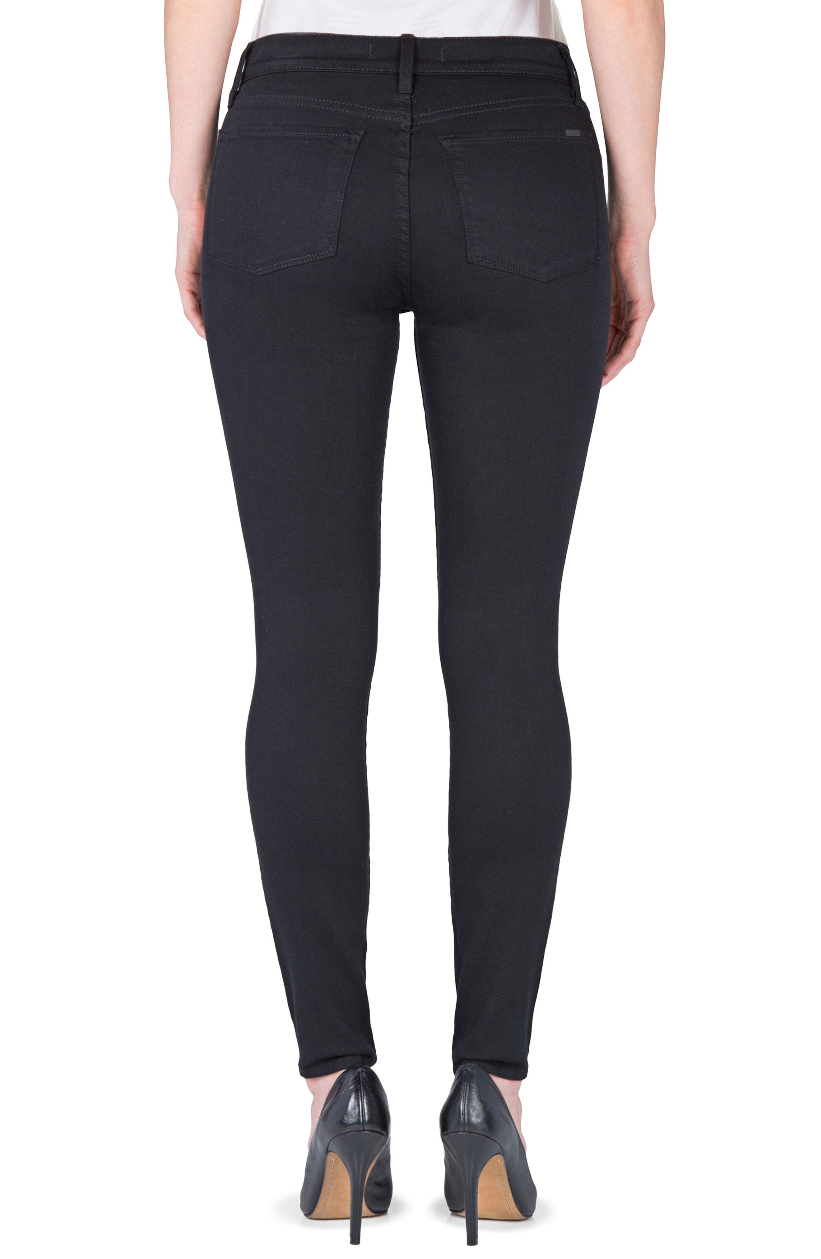 Gwen High Rise Skinny Jeans,                             Alternate thumbnail 2, color,                             001