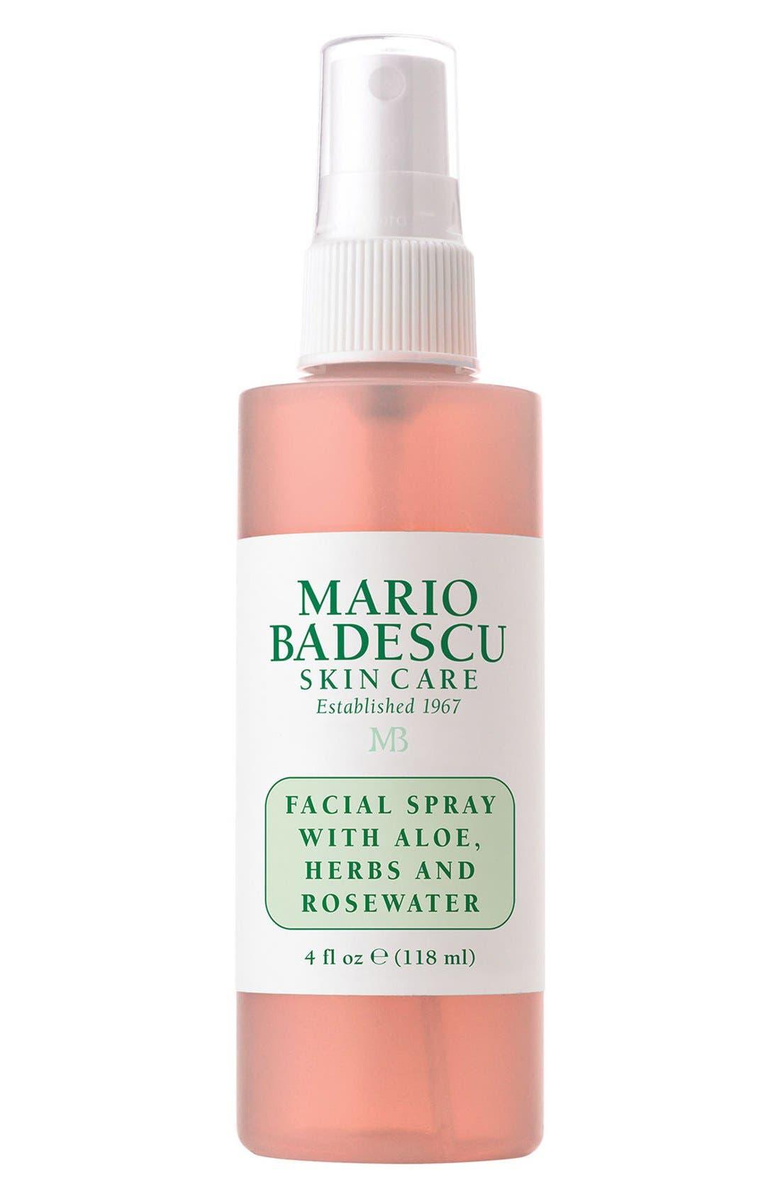 Facial Spray with Aloe, Herbs & Rosewater,                             Main thumbnail 1, color,                             NO COLOR