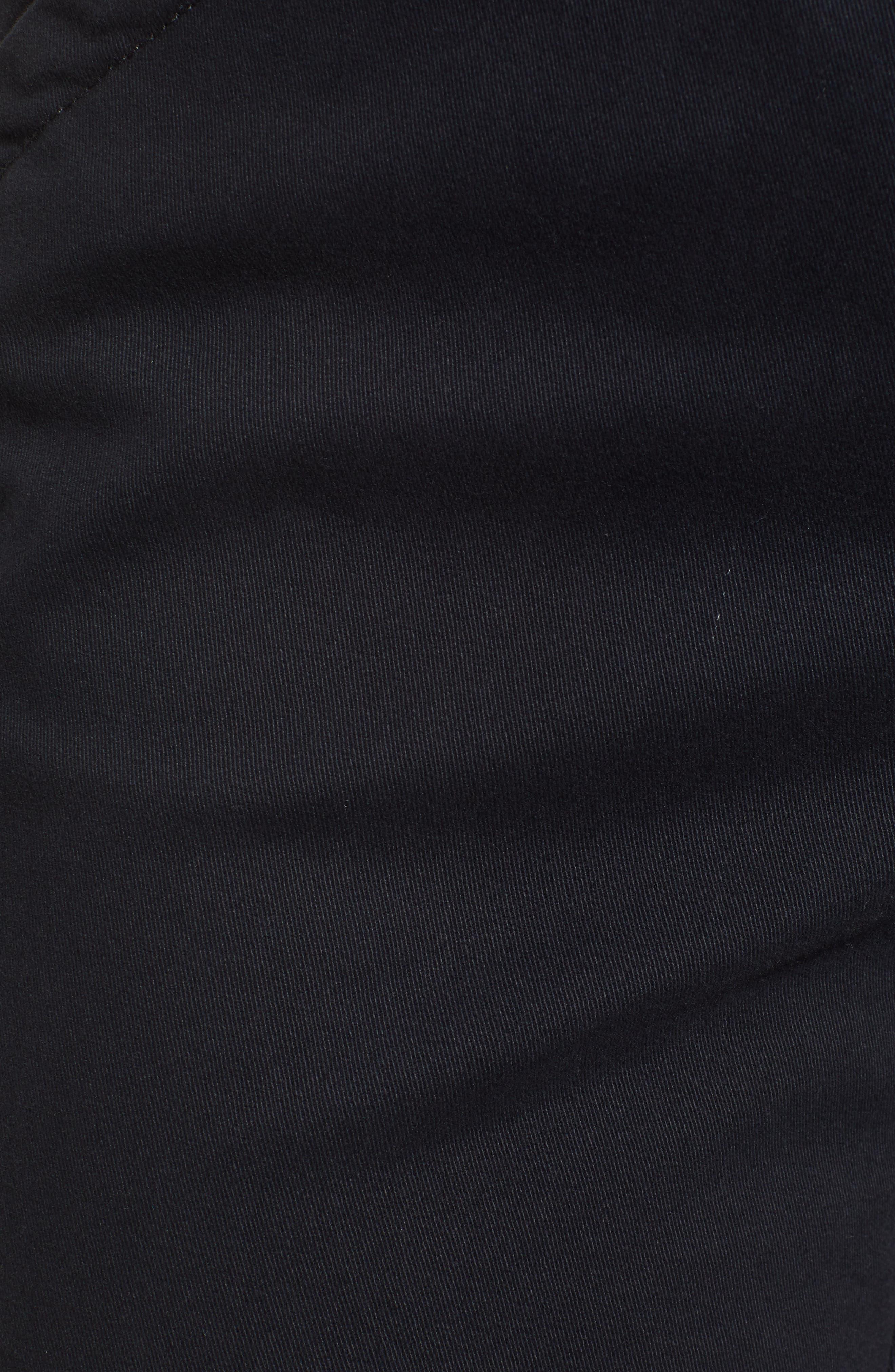 Gracie Bermuda Shorts,                             Alternate thumbnail 6, color,                             BLACK