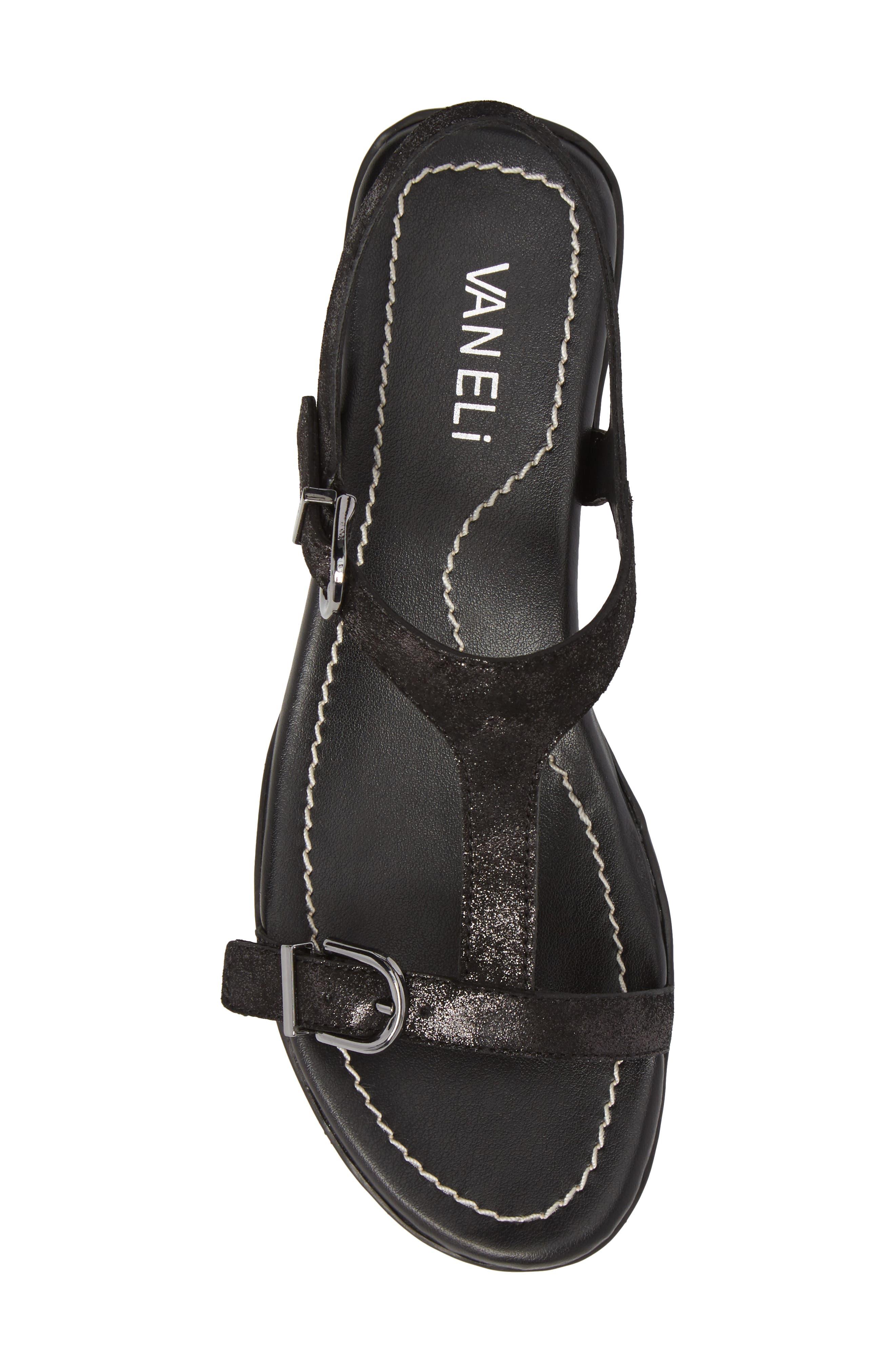 VANELI,                             Taletha T-Strap Sandal,                             Alternate thumbnail 5, color,                             001