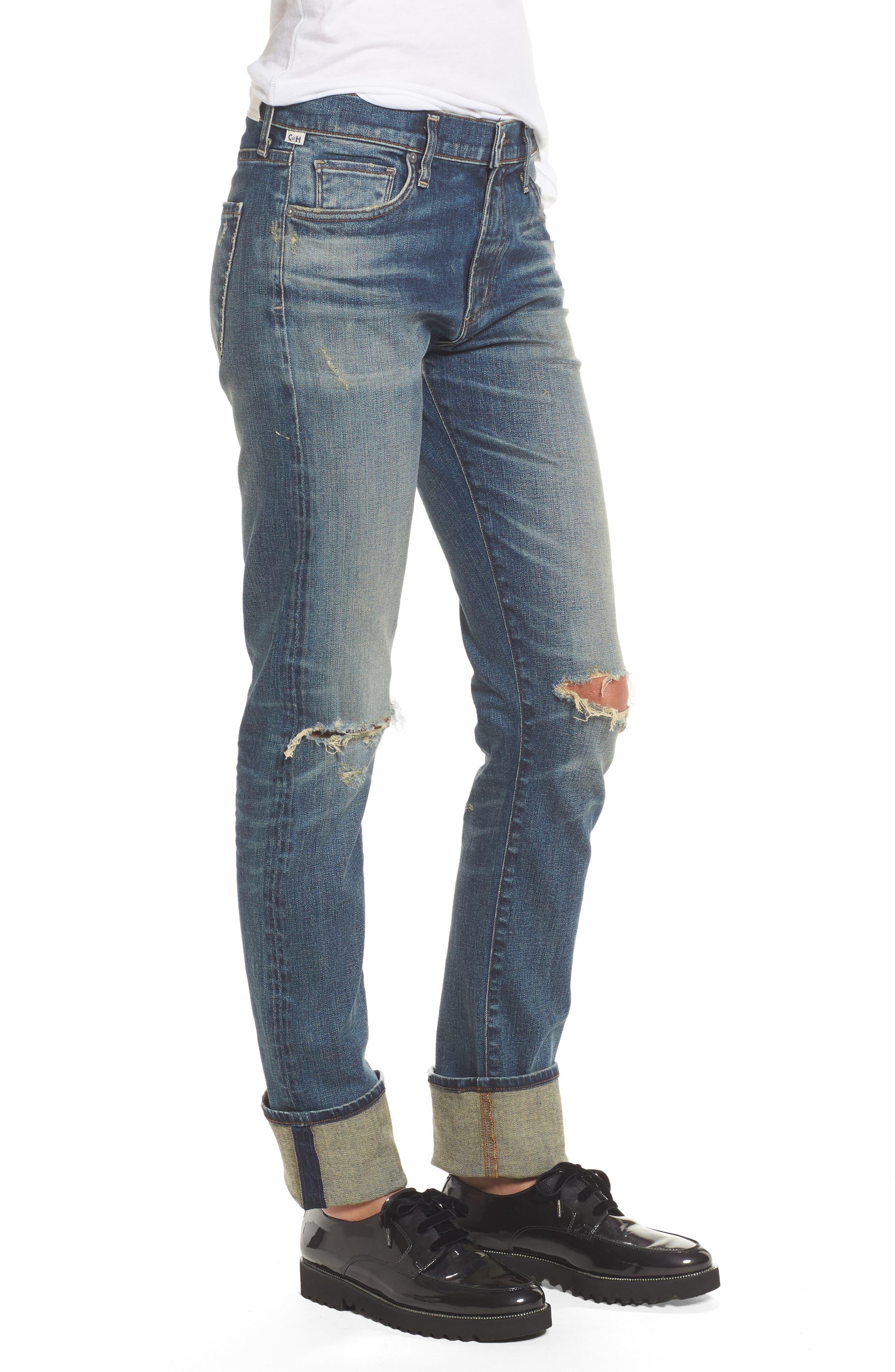 Agnes Long Jeans,                             Alternate thumbnail 3, color,