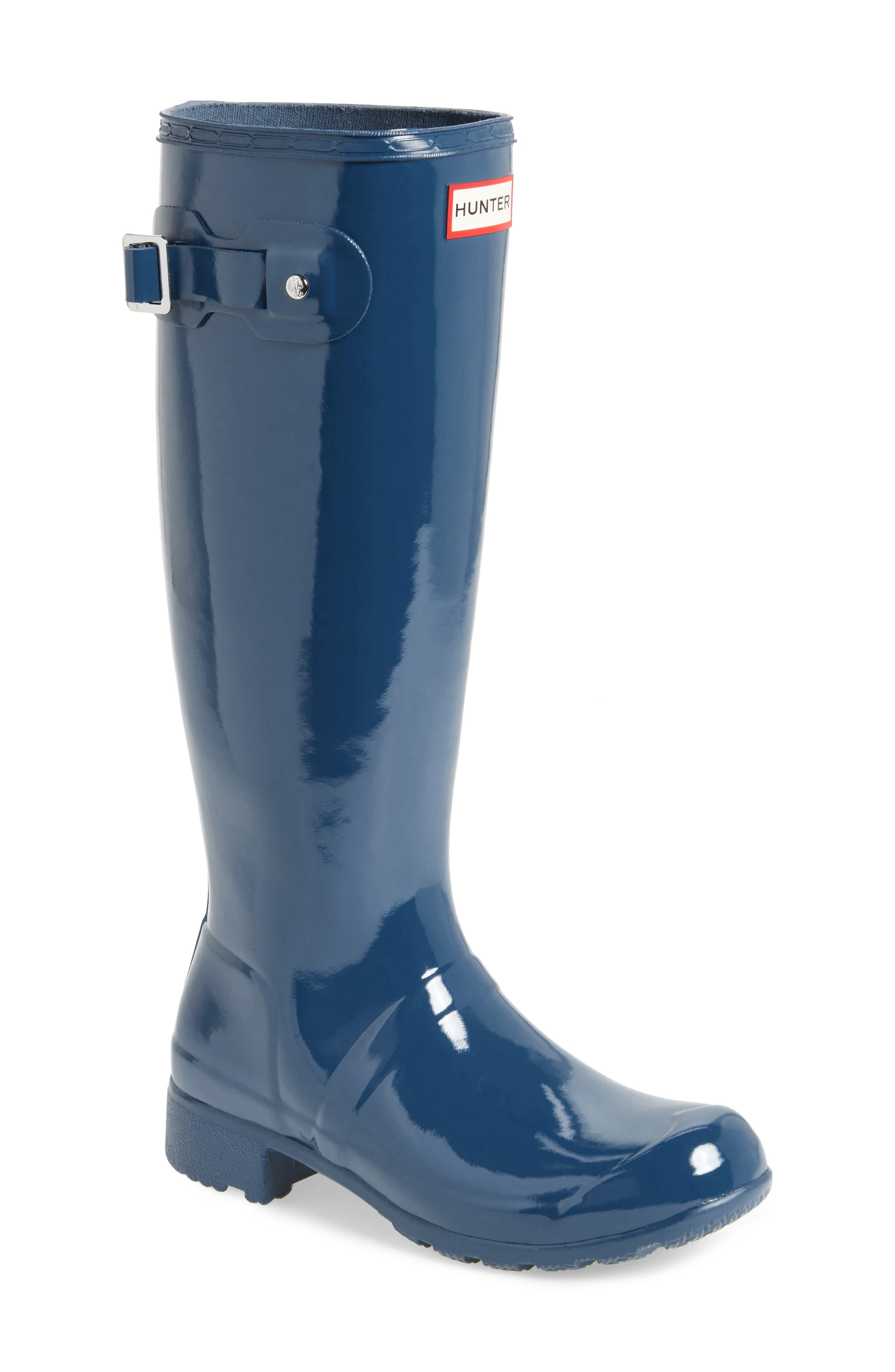 Original Tour Gloss Packable Rain Boot,                             Main thumbnail 2, color,