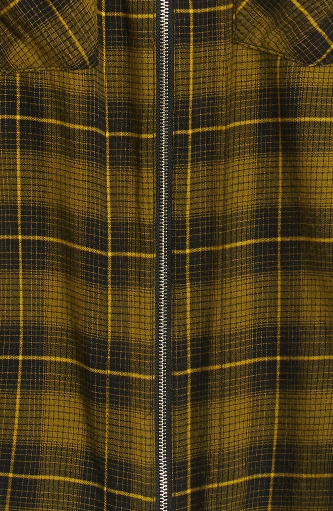 Destroyed Check Flannel Shirt,                             Alternate thumbnail 6, color,                             720