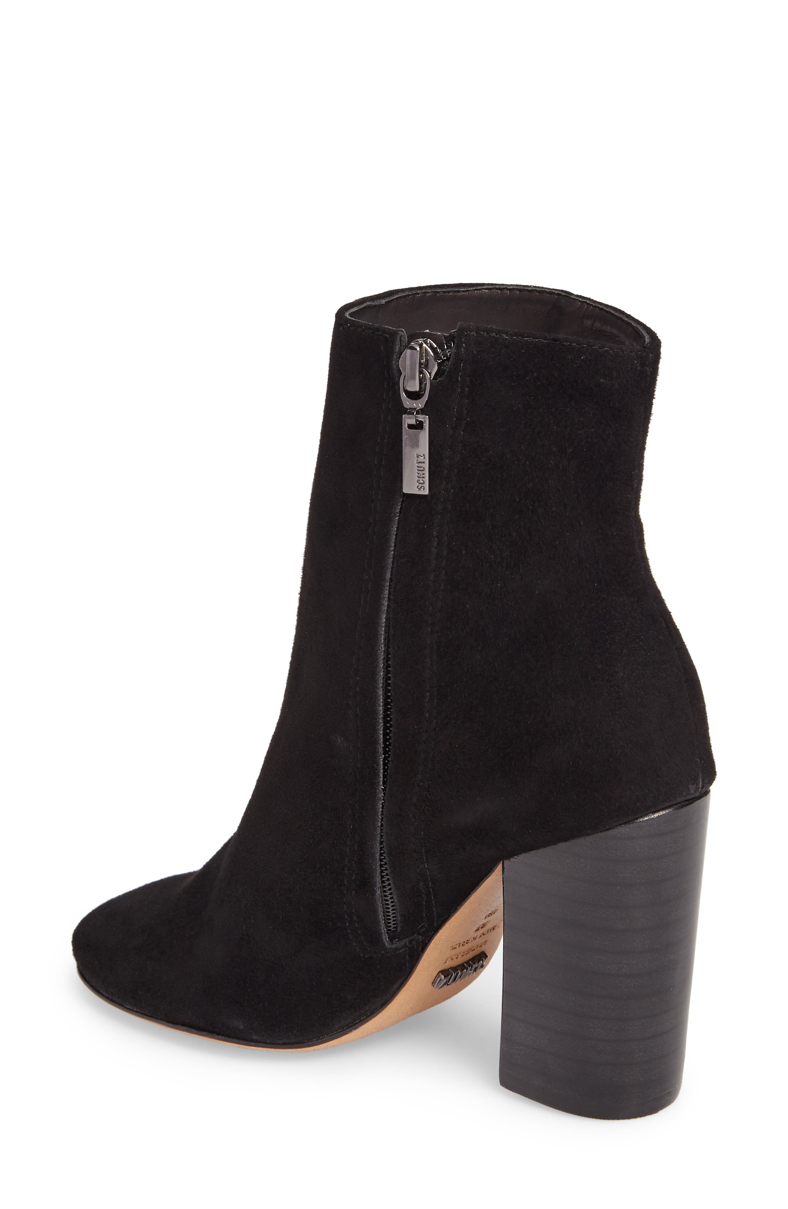 Ravan Block Heel Bootie,                             Alternate thumbnail 2, color,                             001