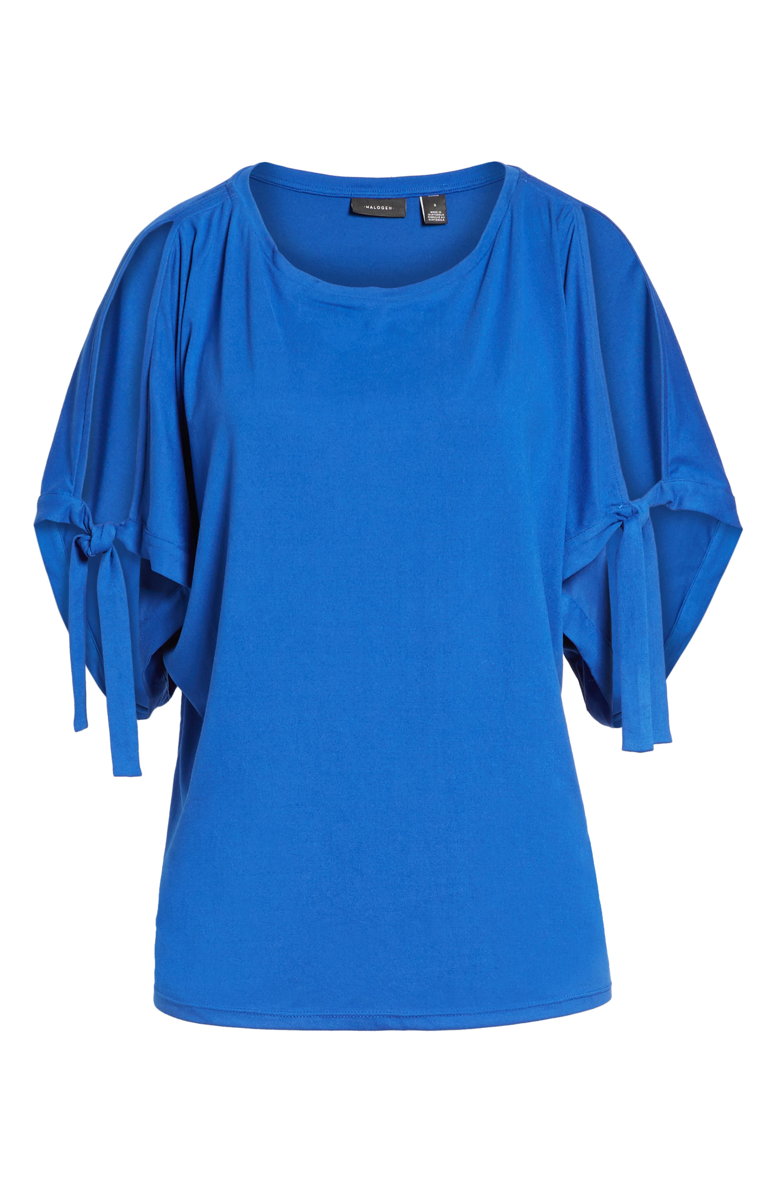 Stretch Knit Top,                             Alternate thumbnail 6, color,                             421