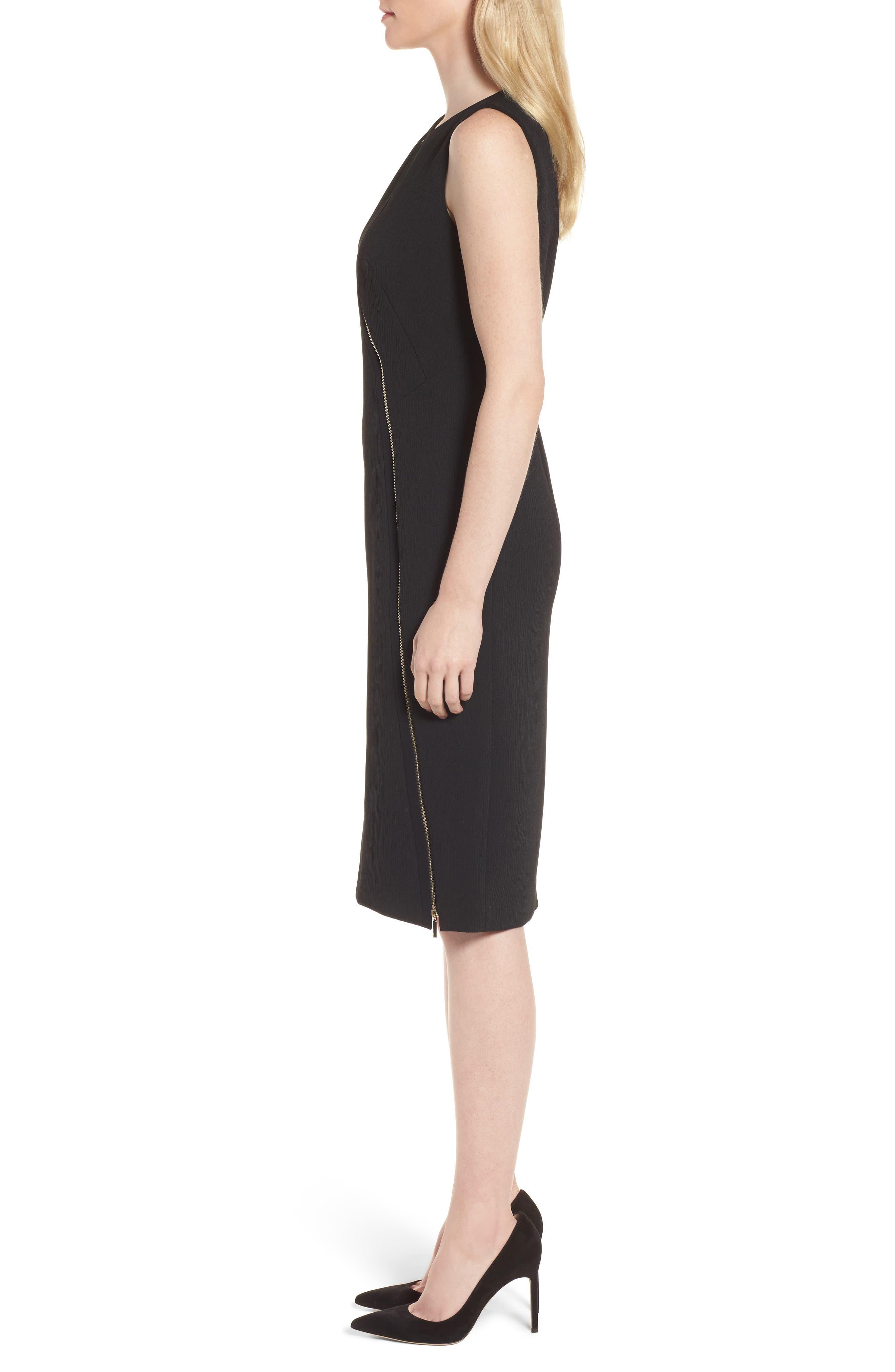 Danafea Dress,                             Alternate thumbnail 3, color,                             001