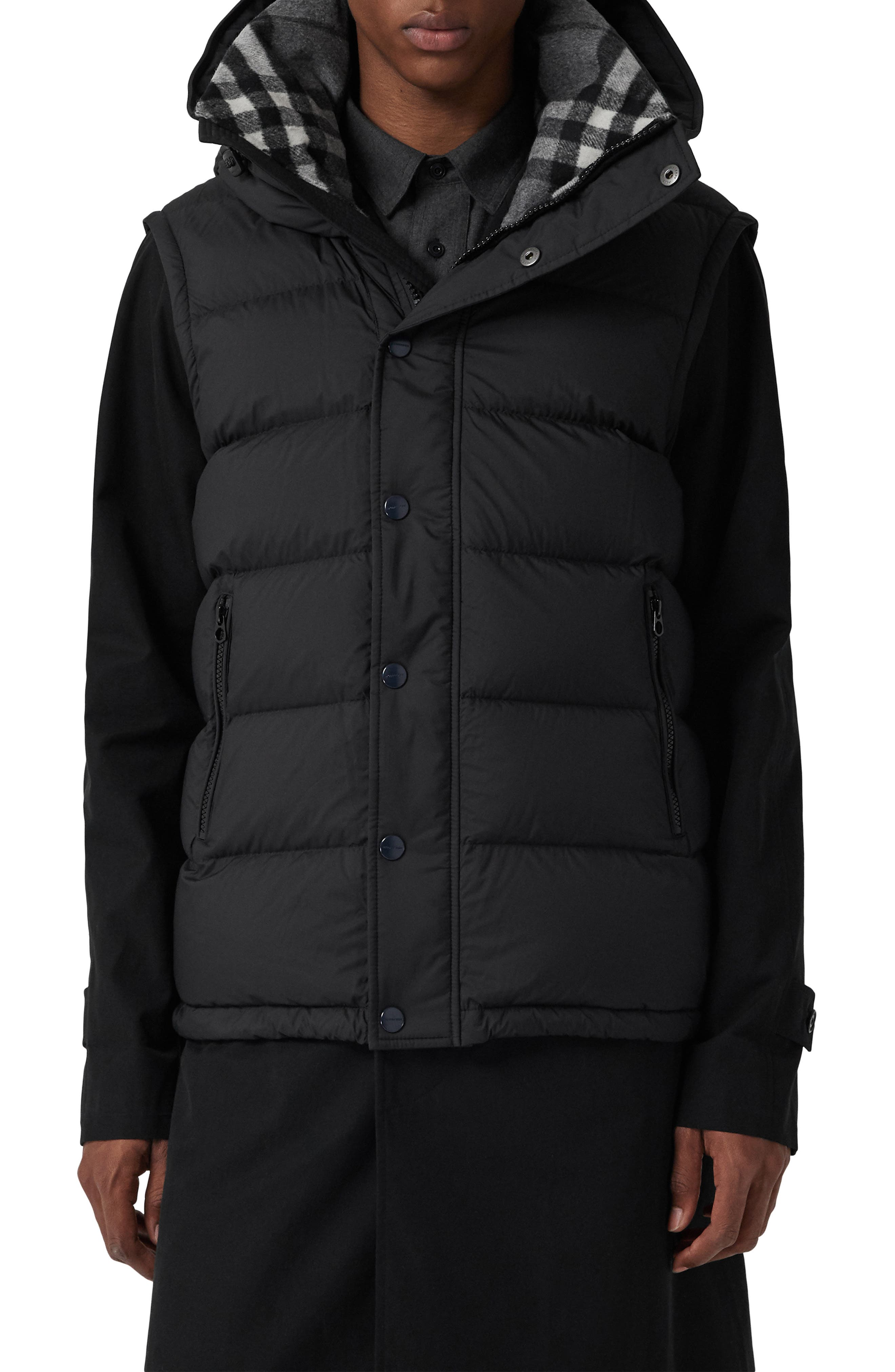 Hartley Hybrid Jacket with Detachable Sleeves,                             Alternate thumbnail 2, color,                             001