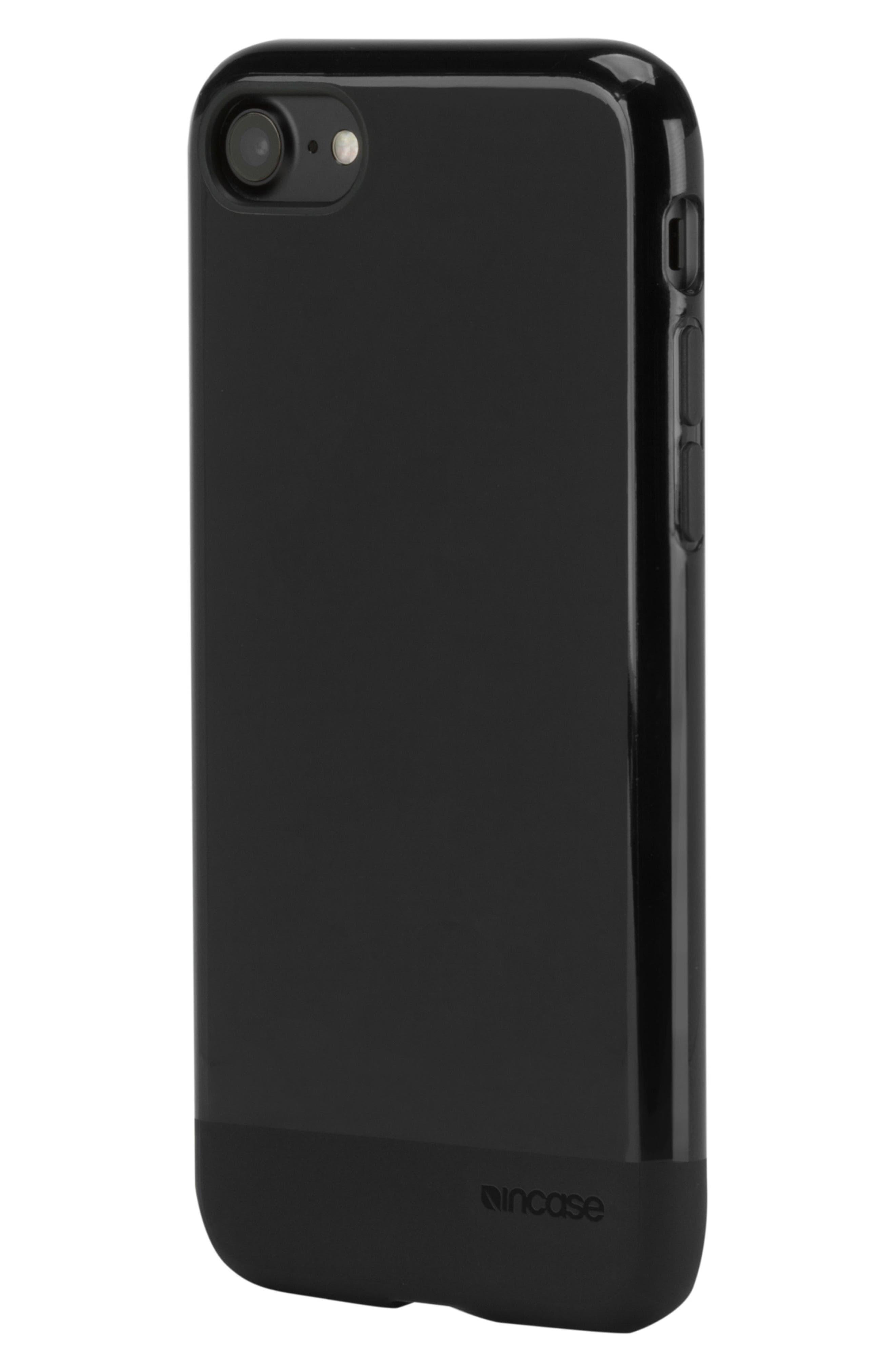 Protective iPhone 7/8 Case,                             Alternate thumbnail 7, color,                             BLACK