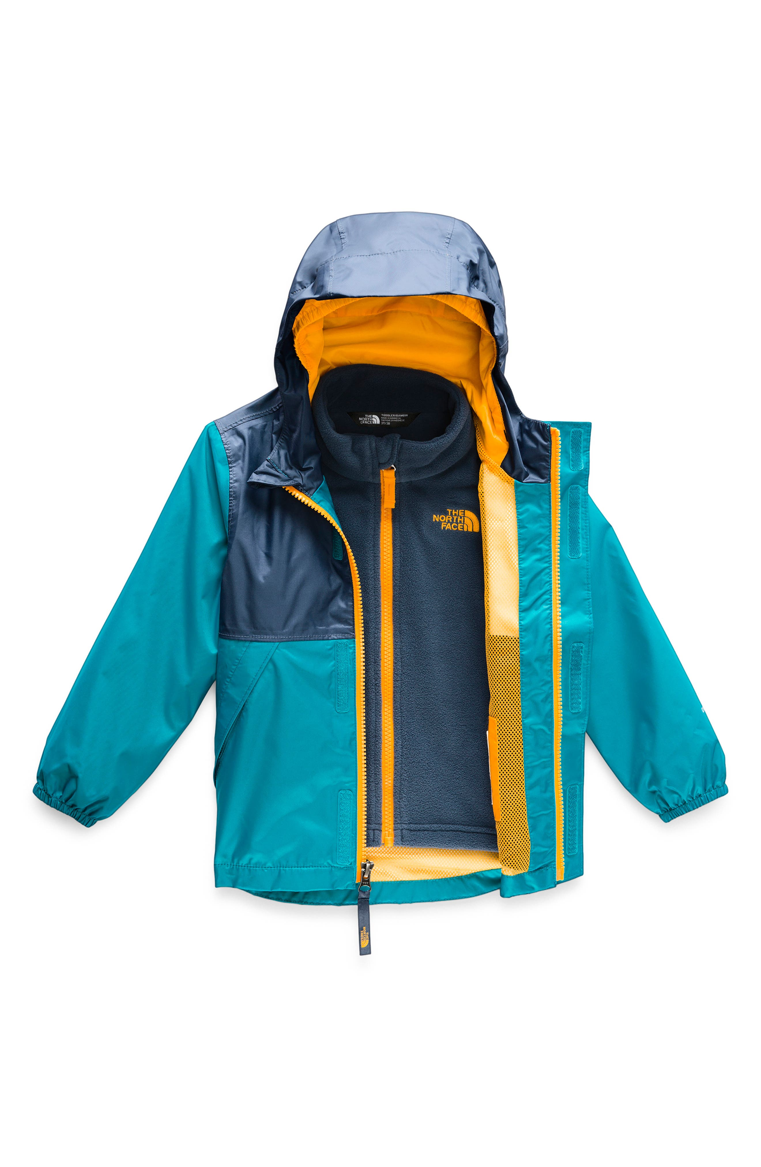 Stormy Rain Triclimate<sup>®</sup> Waterproof 3-in-1 Jacket, Main, color, CARIBBEAN SEA