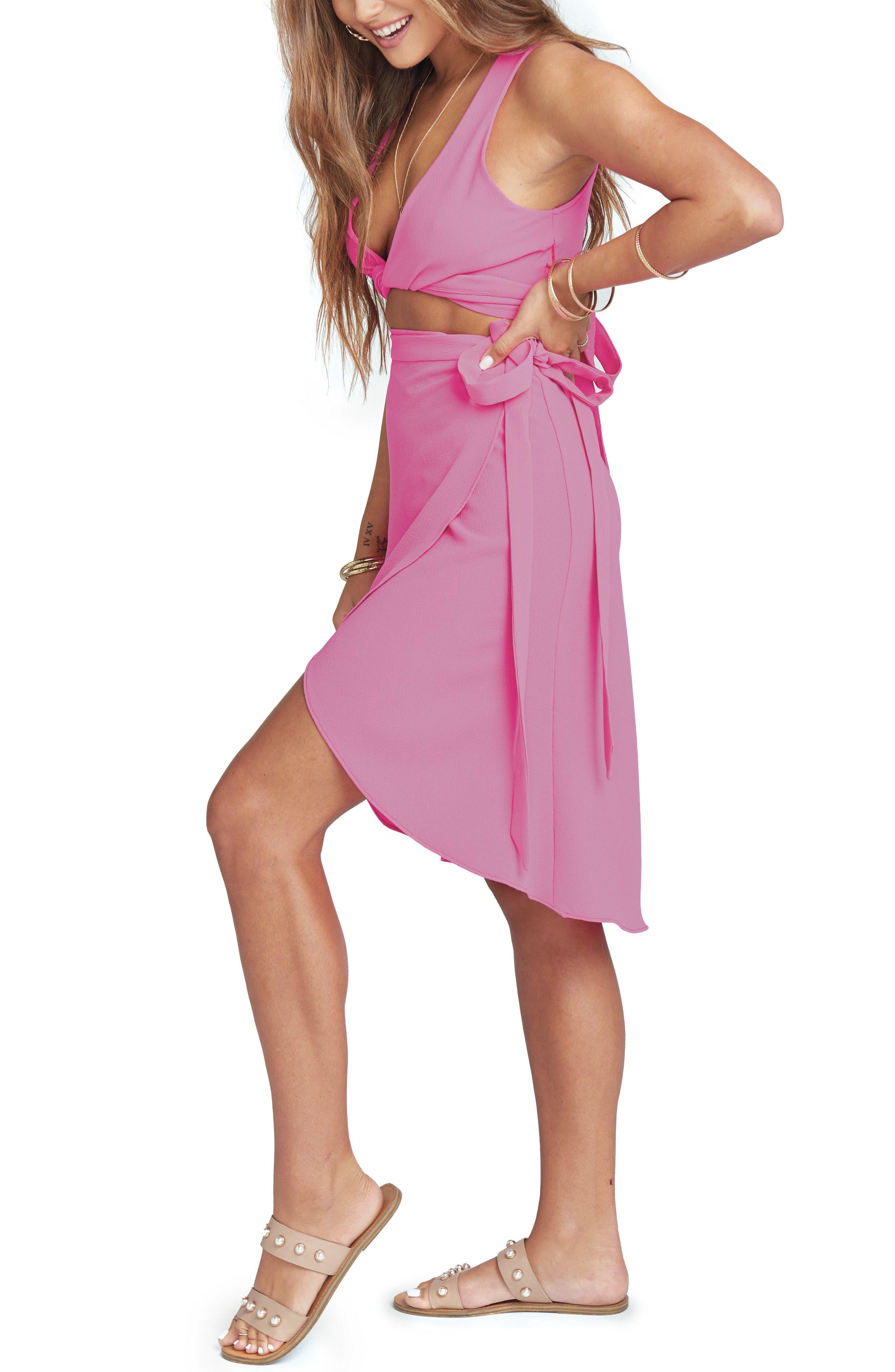 Panama Wrap Skirt,                             Alternate thumbnail 5, color,                             650