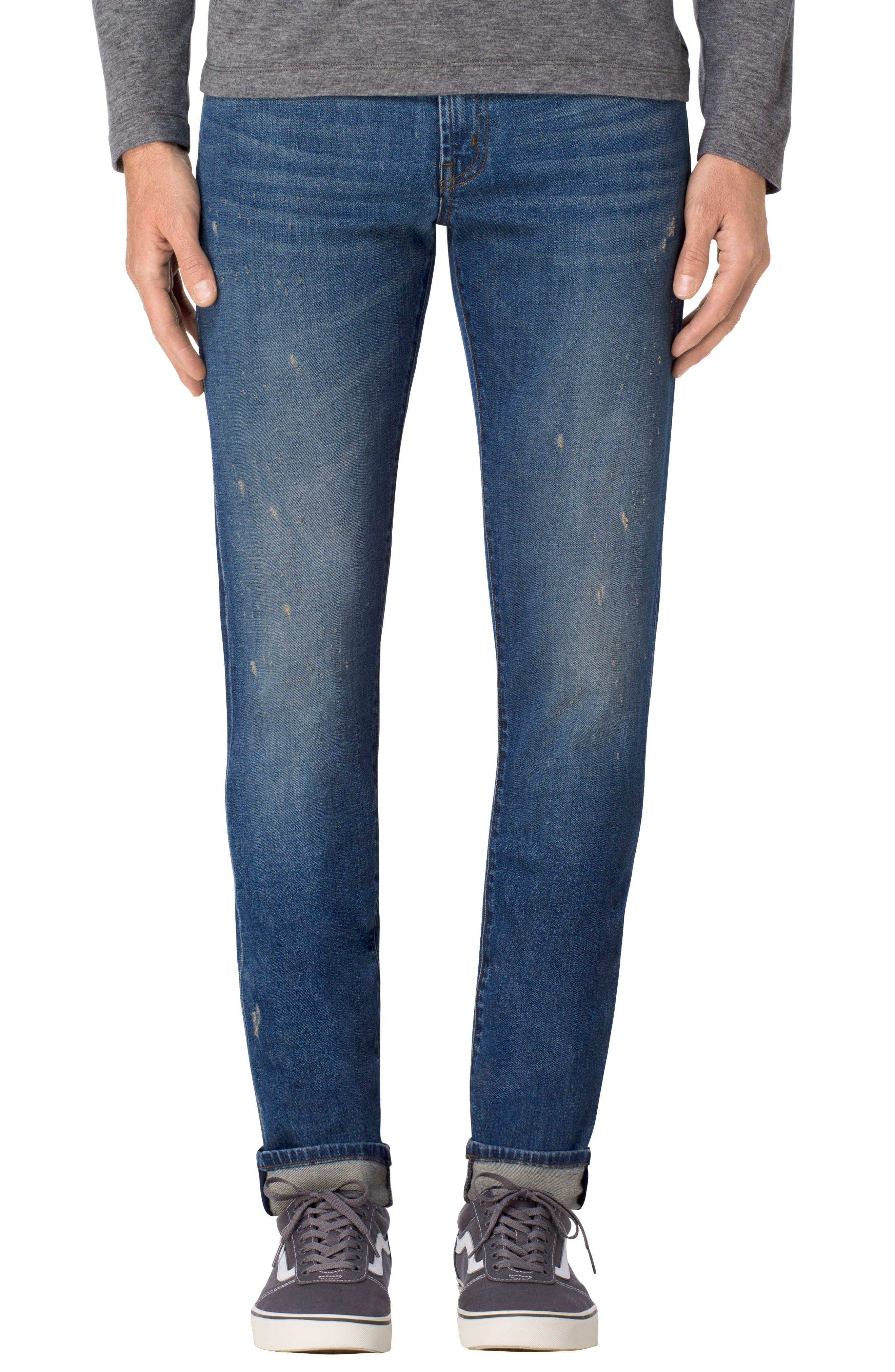 Tyler Slim Fit Jeans,                         Main,                         color, 400