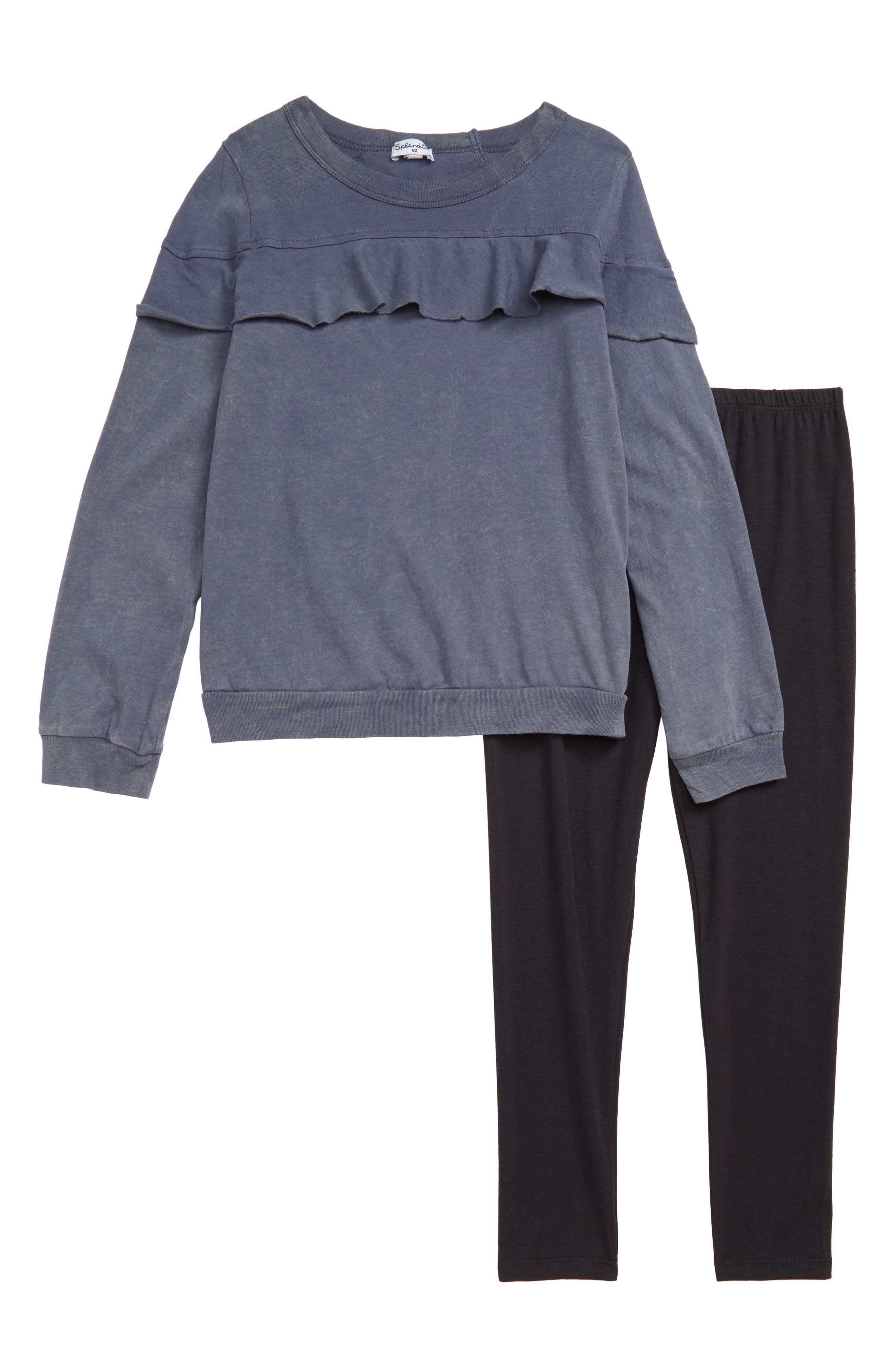 Sweatshirt & Leggings Set,                         Main,                         color, 460